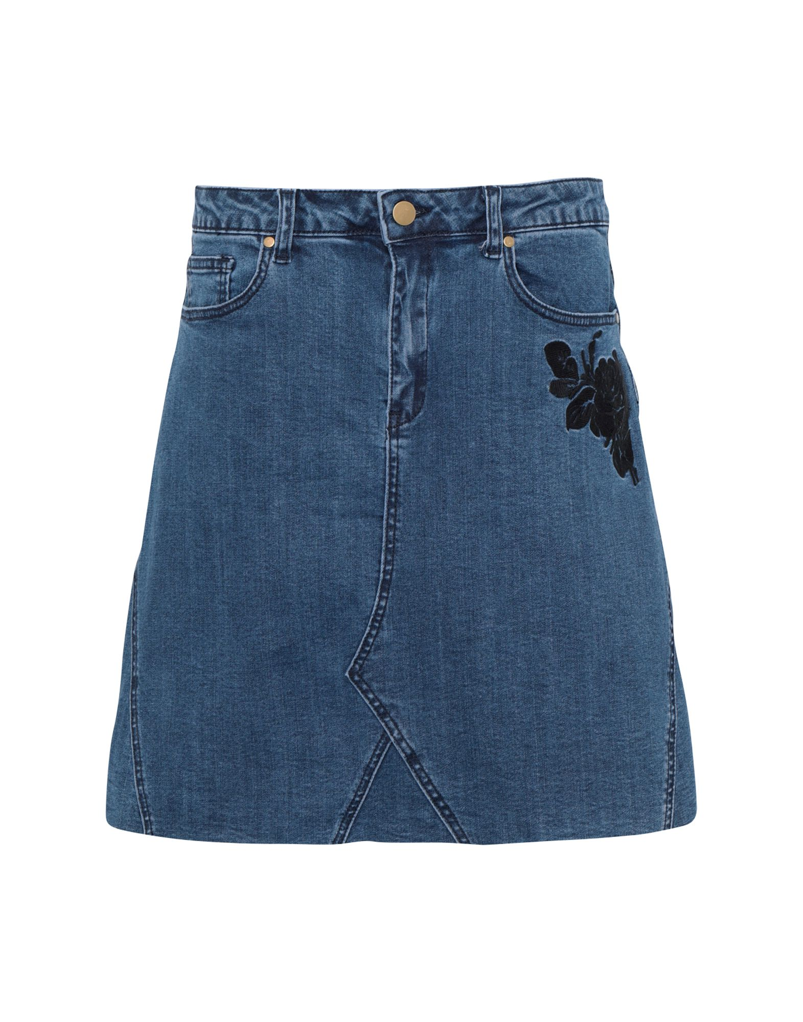 GEORGE J. LOVE Джинсовая юбка цена и фото
