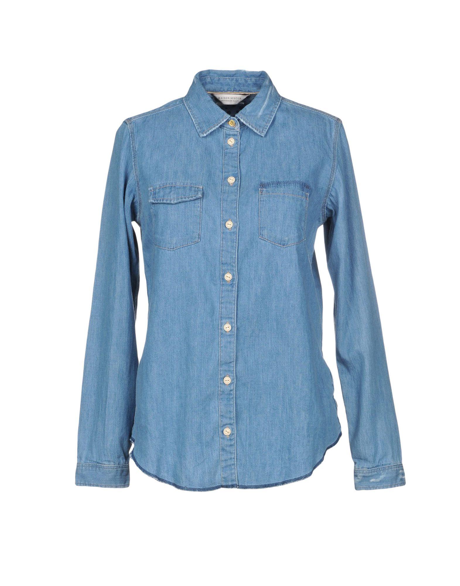 MAISON SCOTCH Джинсовая рубашка maison scotch рубашка maison scotch 133 1621 0120131137 03 page 4