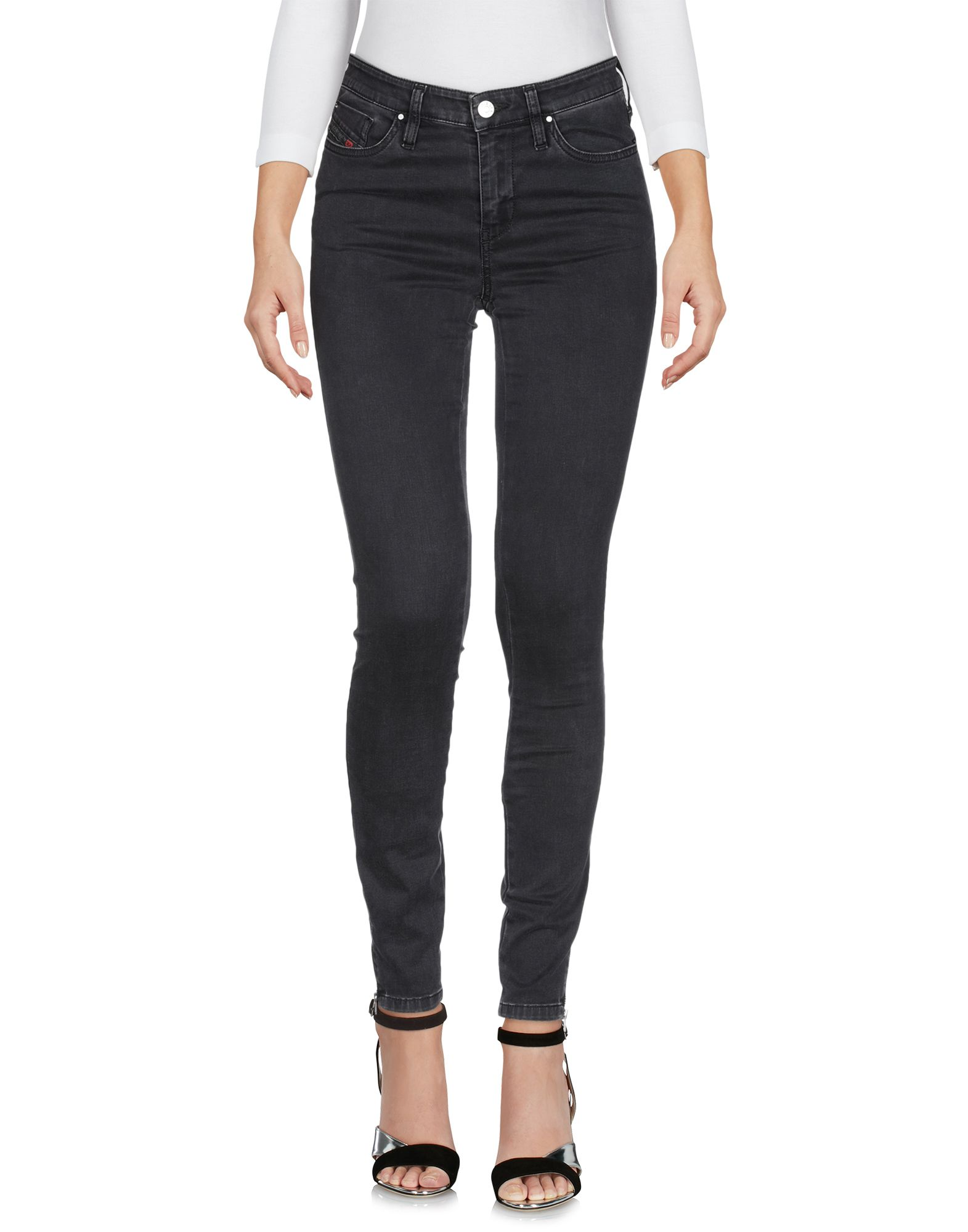 DIESEL Джинсовые брюки брюки на молнии сбоку из комфортной ткани стрейч