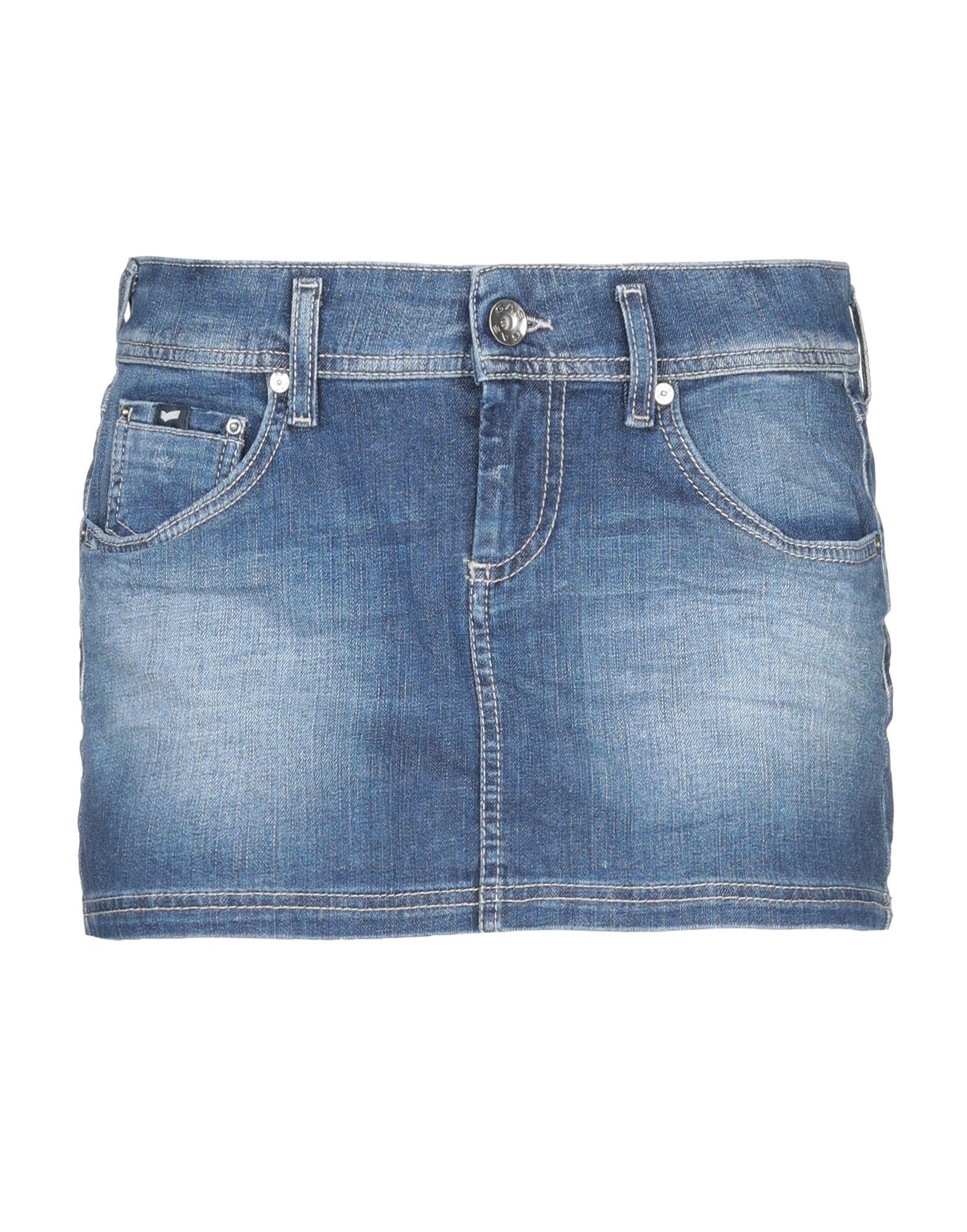 GAS Джинсовая юбка юбка gas цвет бежевый