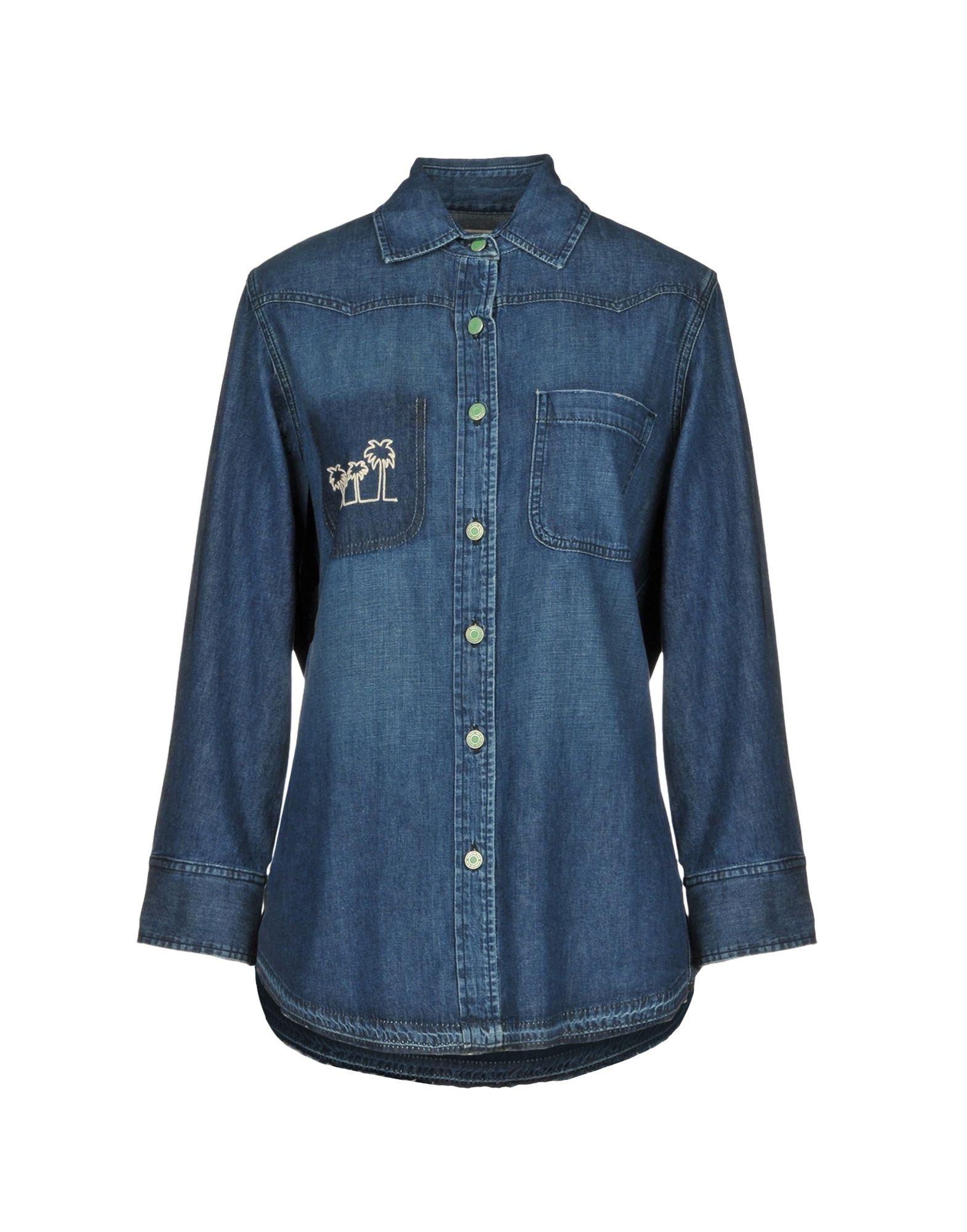 SANDRINE ROSE Джинсовая рубашка