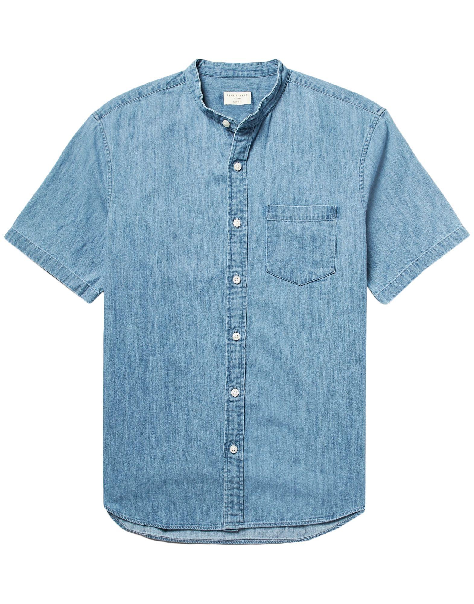 CLUB MONACO Джинсовая рубашка сапоги monaco low