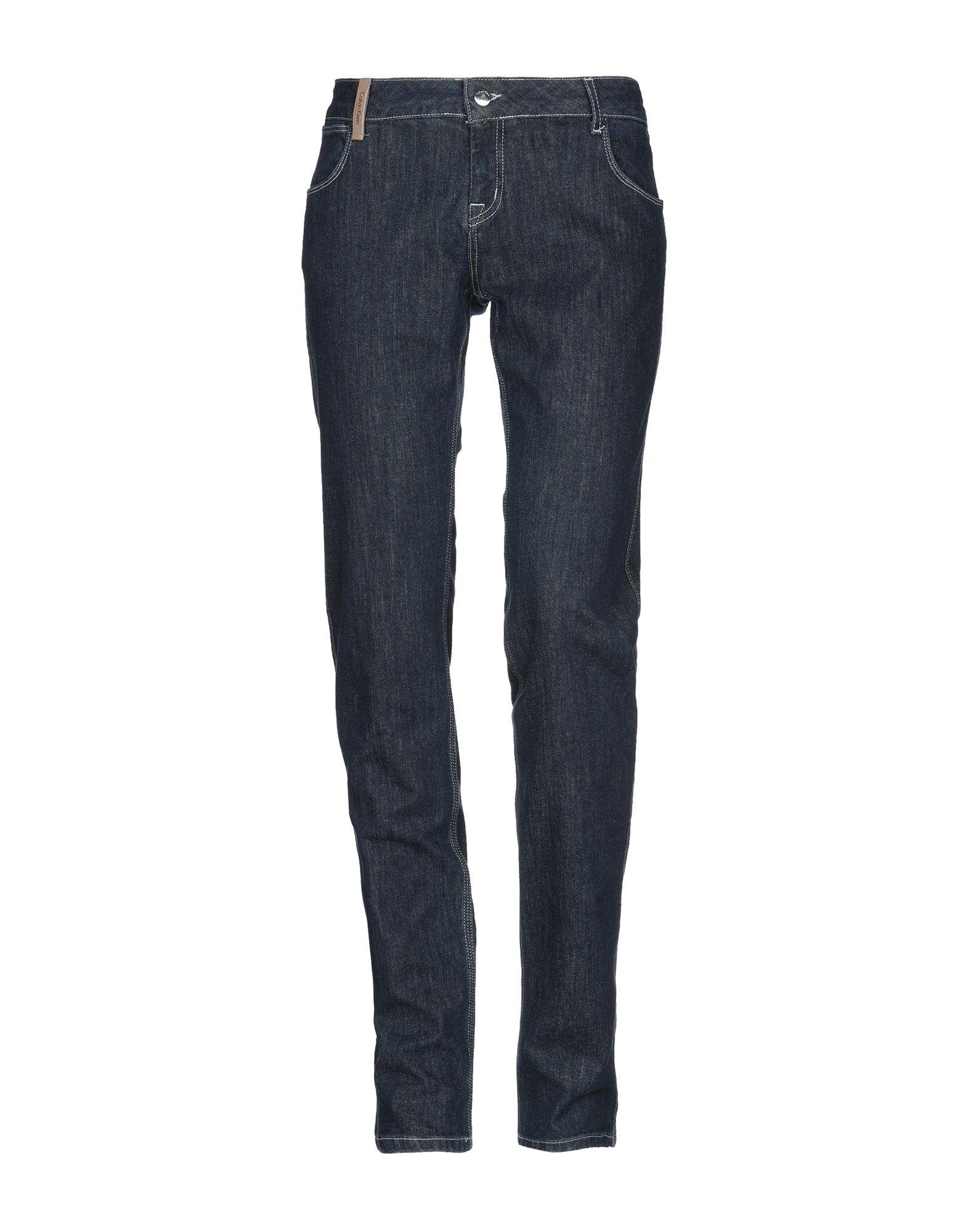 CALVIN KLEIN COLLECTION Джинсовые брюки цены онлайн