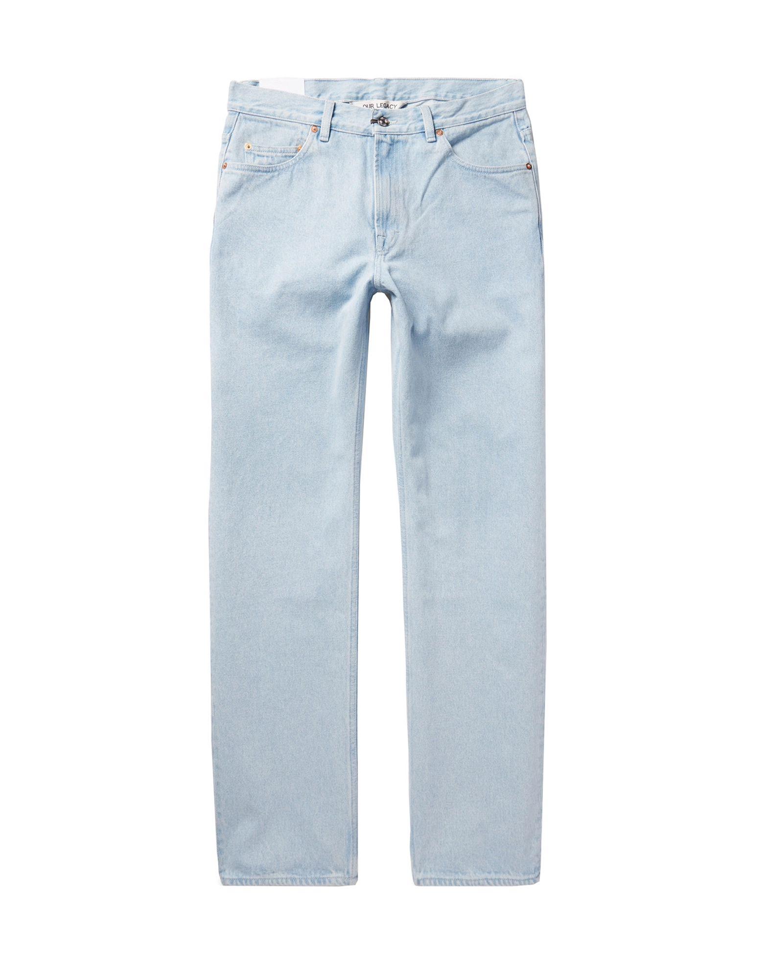 OUR LEGACY Джинсовые брюки carver pioneer camp джинсовые брюки мужские обычные джинсовые брюки темно синий 33 611 021