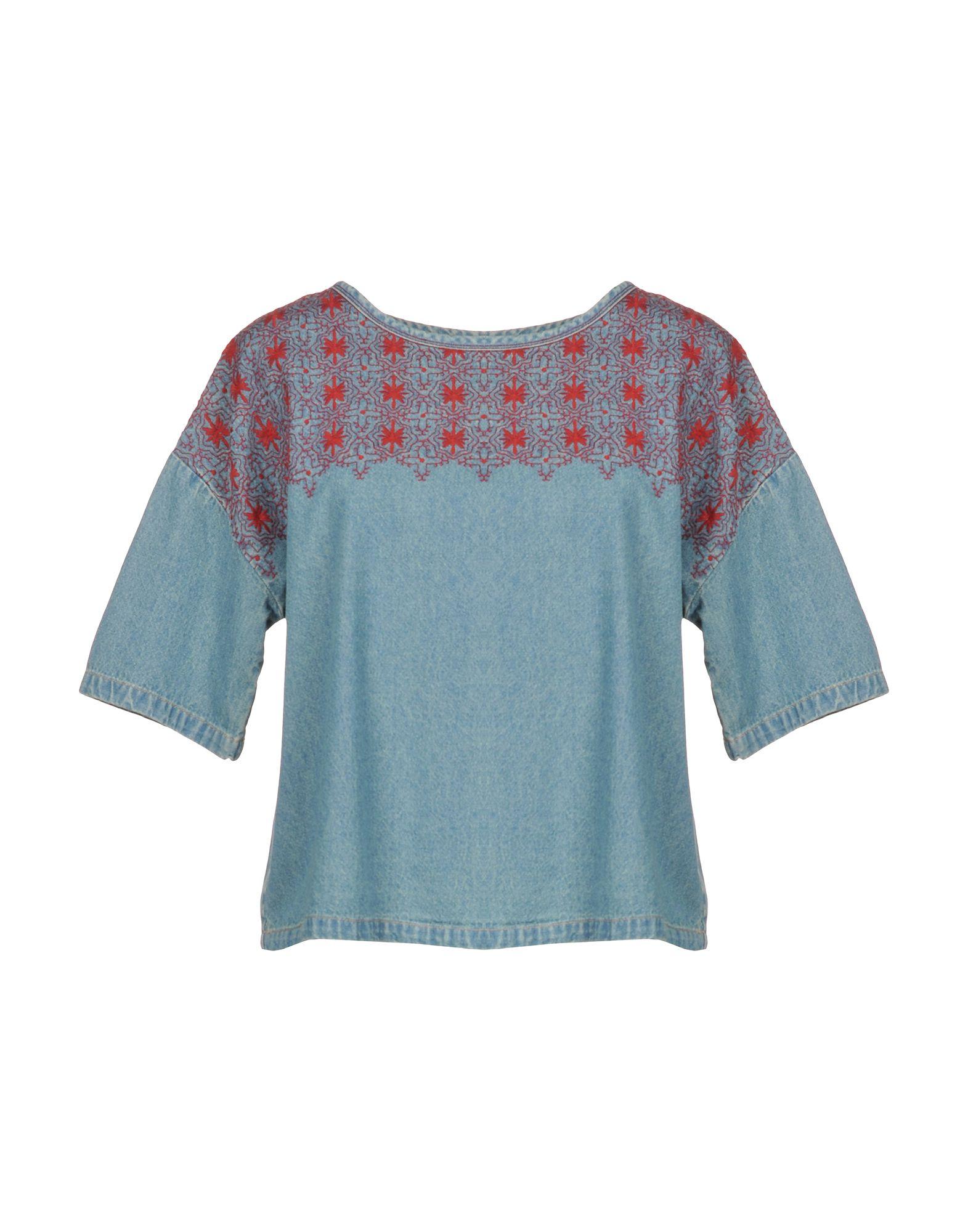 CURRENT/ELLIOTT Джинсовая рубашка current elliott ������������������ ����������