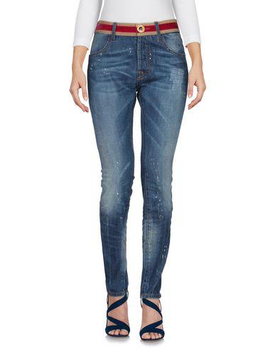 Джинсовые брюки от MAURIZIO MASSIMINO