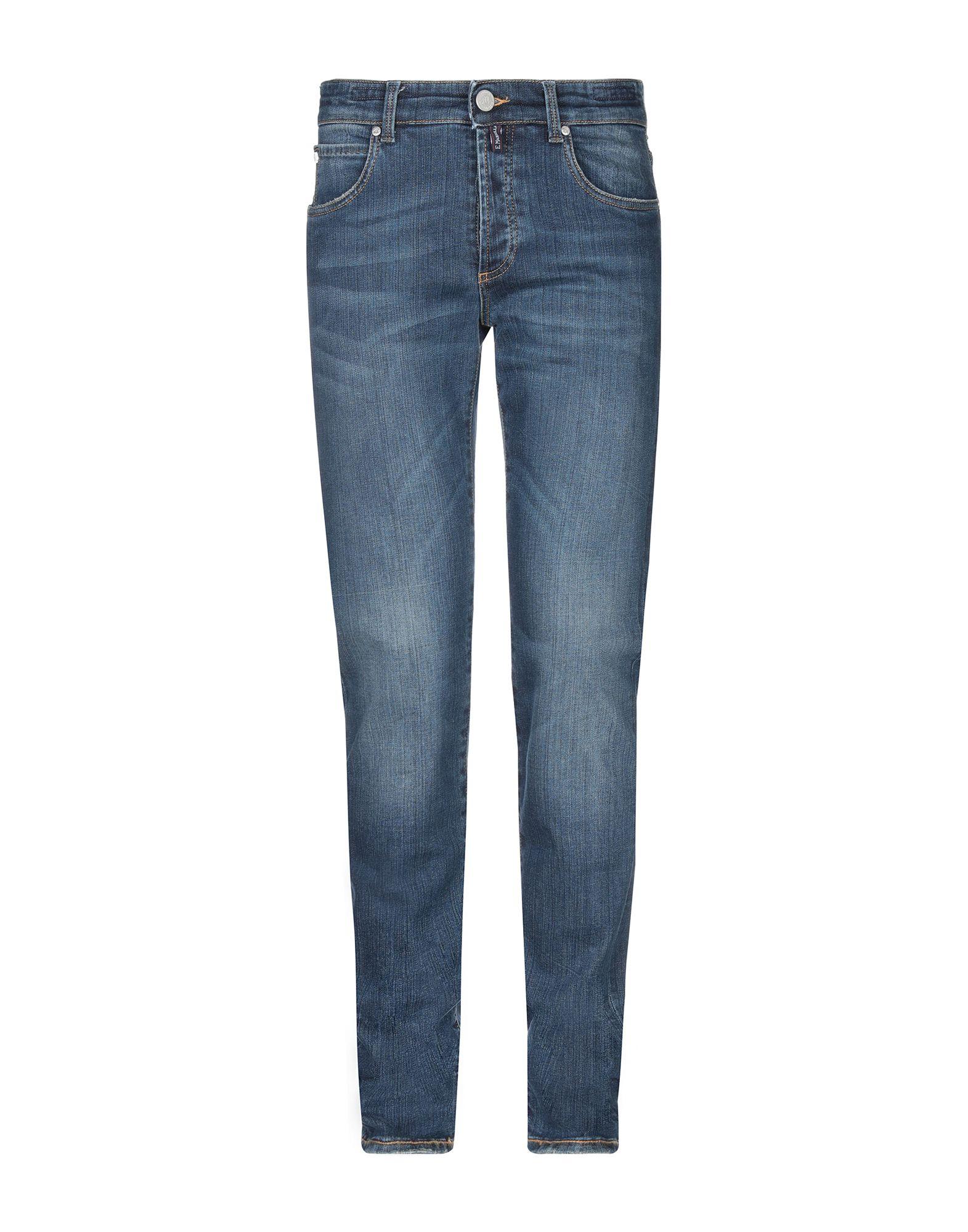 《セール開催中》E.MARINELLA メンズ ジーンズ ブルー 40 コットン 98% / ポリウレタン 2%