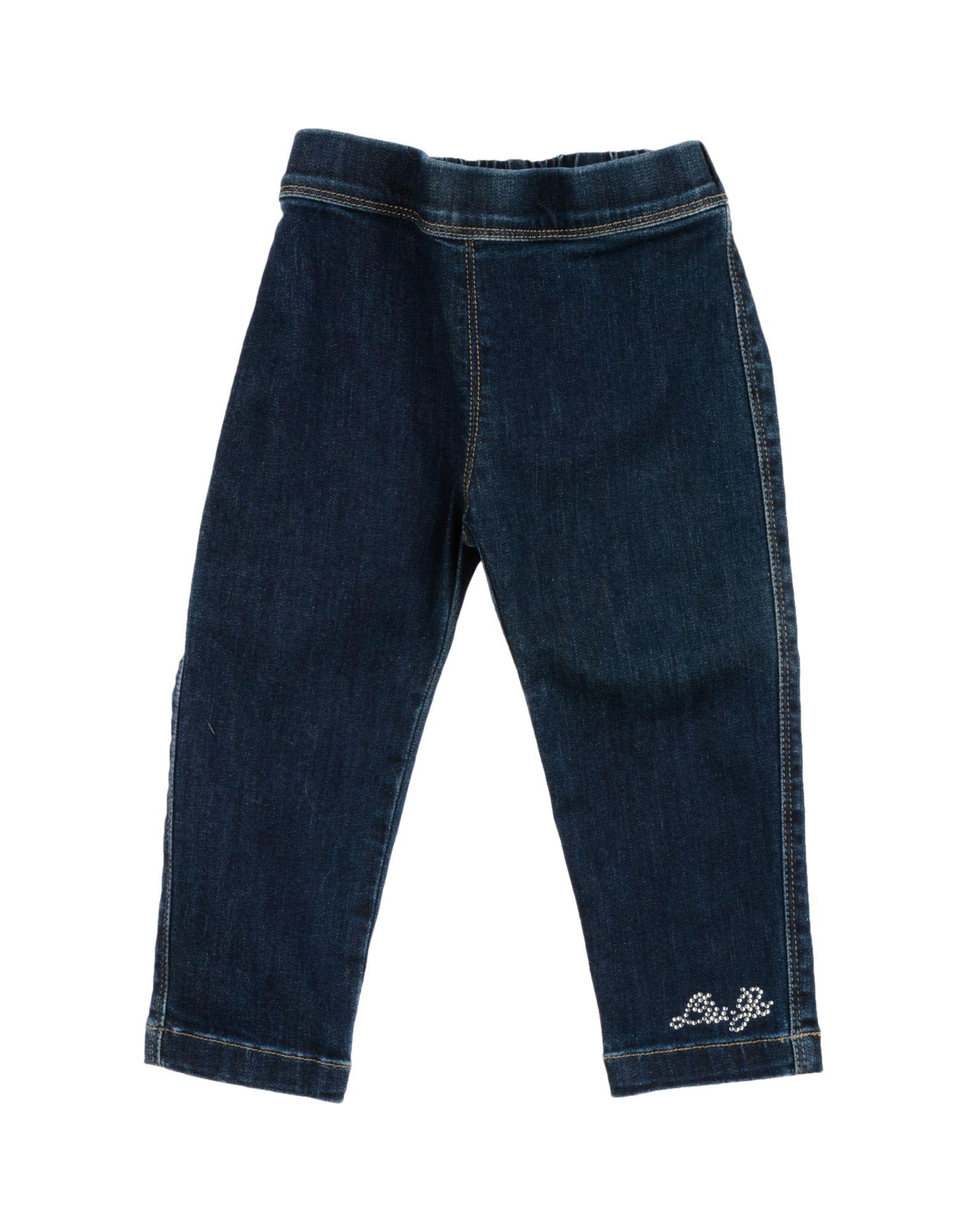 LIU •JO Джинсовые брюки брюки текстильные джинсовые для девочек 110 362011 синий деним ean 4690244736511