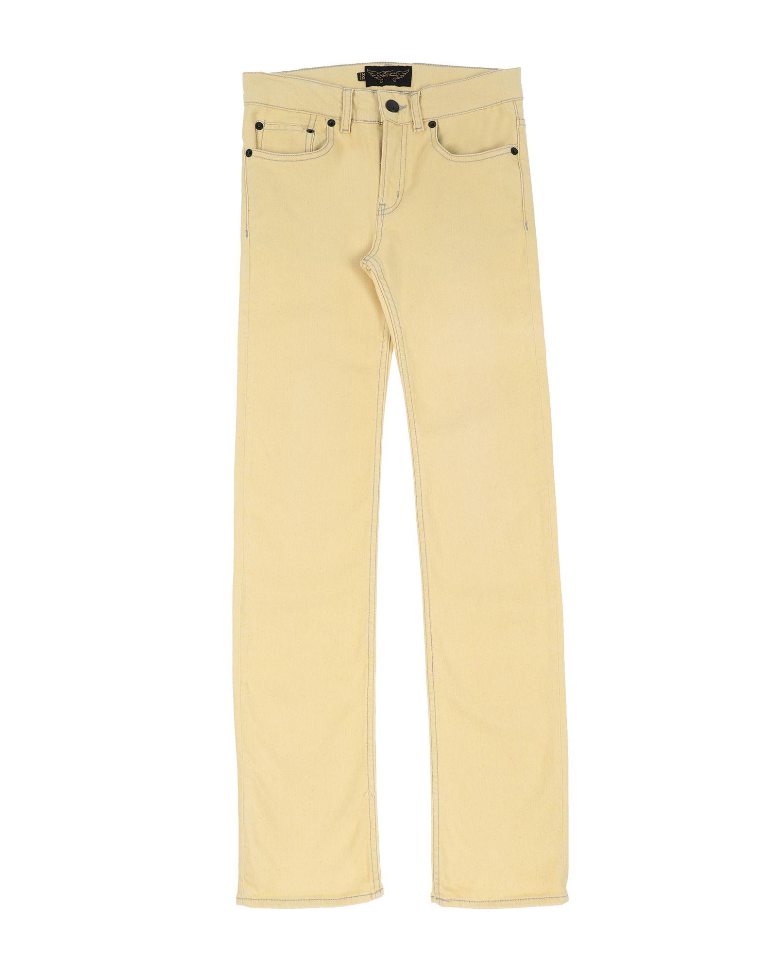 FINGER IN THE NOSE Джинсовые брюки цена
