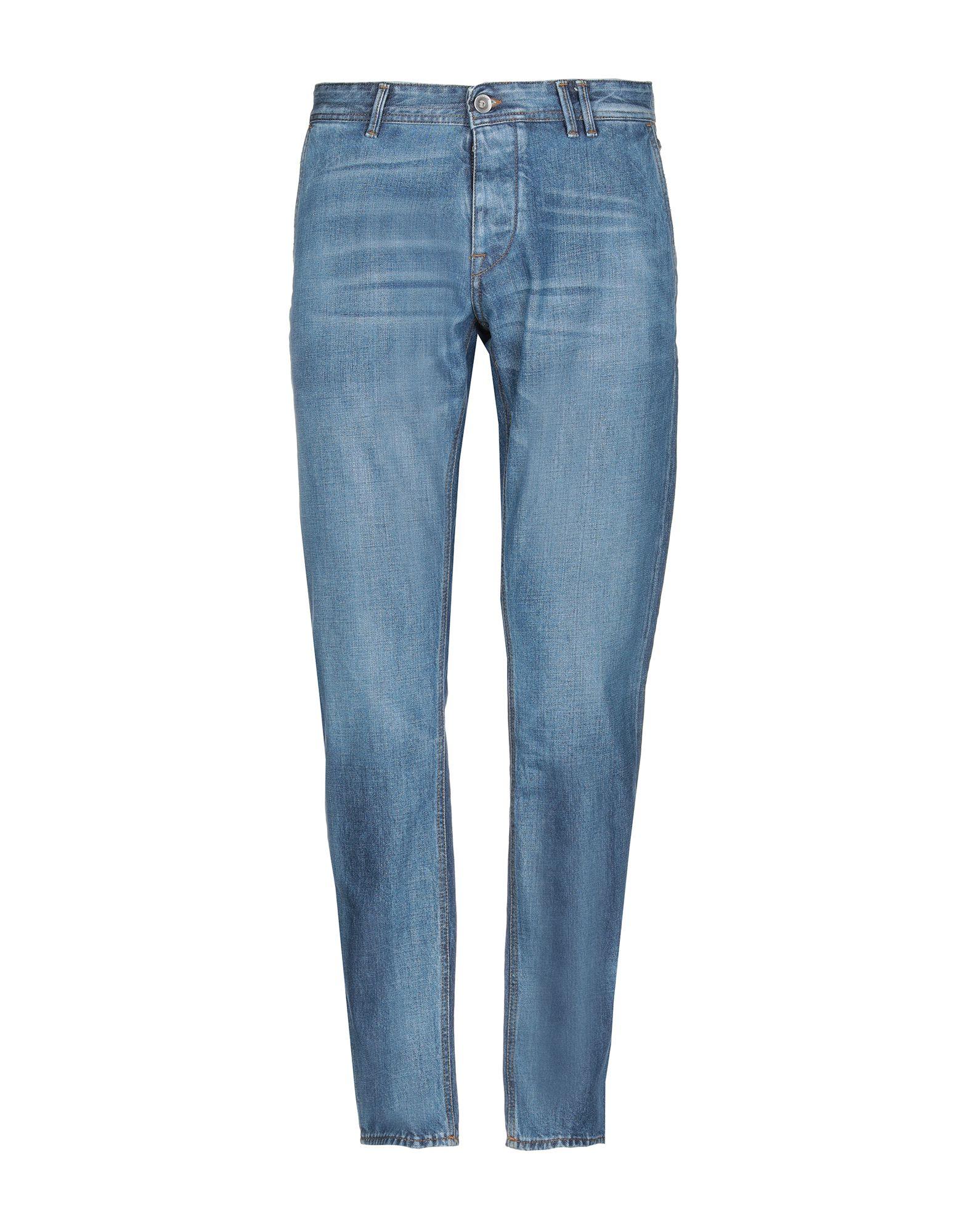 《送料無料》HAIKURE メンズ ジーンズ ブルー 29W-32L オーガニックコットン 100%