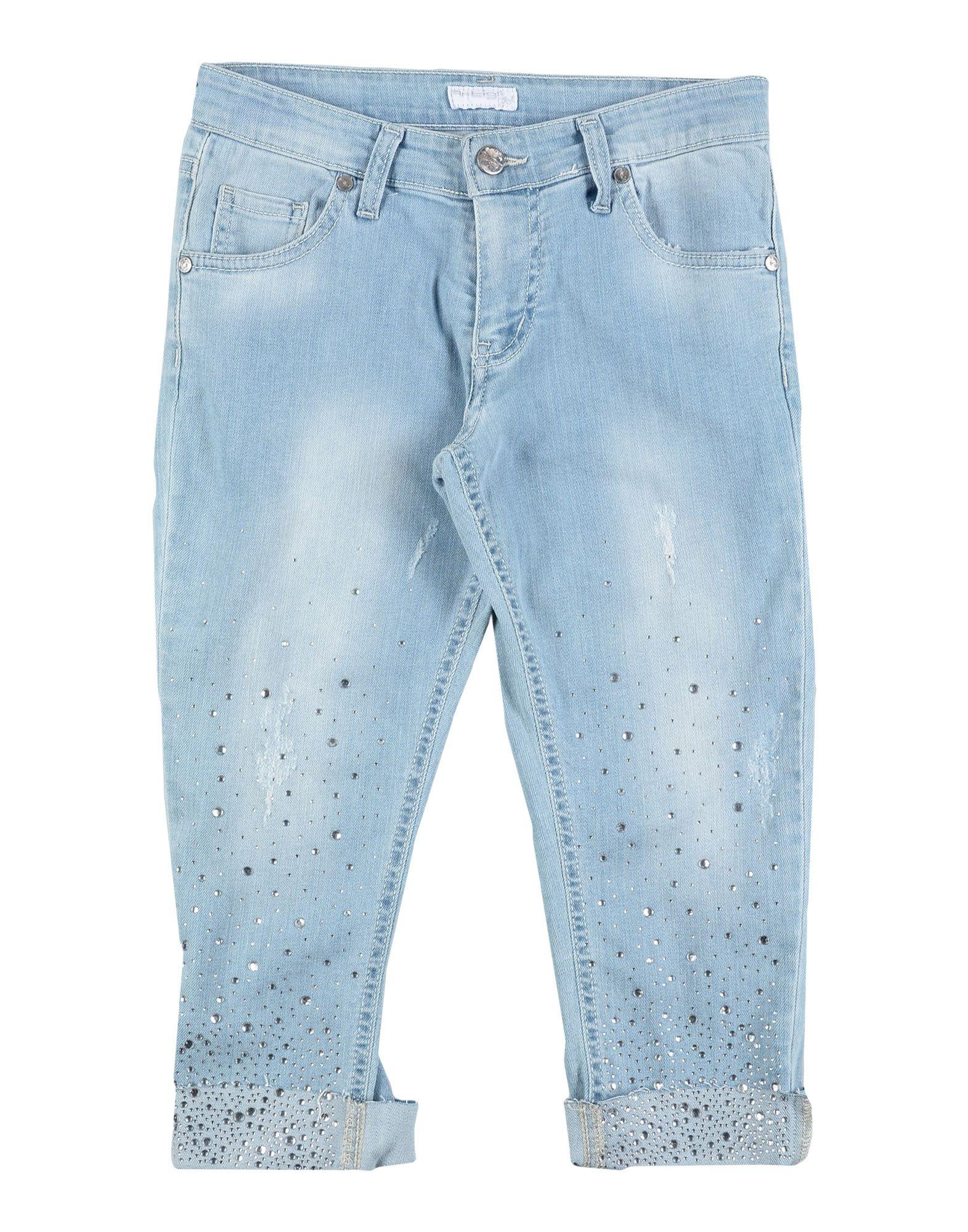 ARTIGLI Girl Джинсовые брюки-капри
