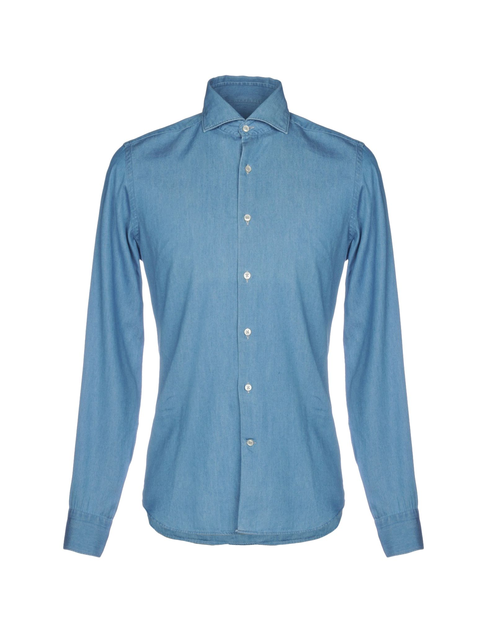 SPRING STREET Джинсовая рубашка цена