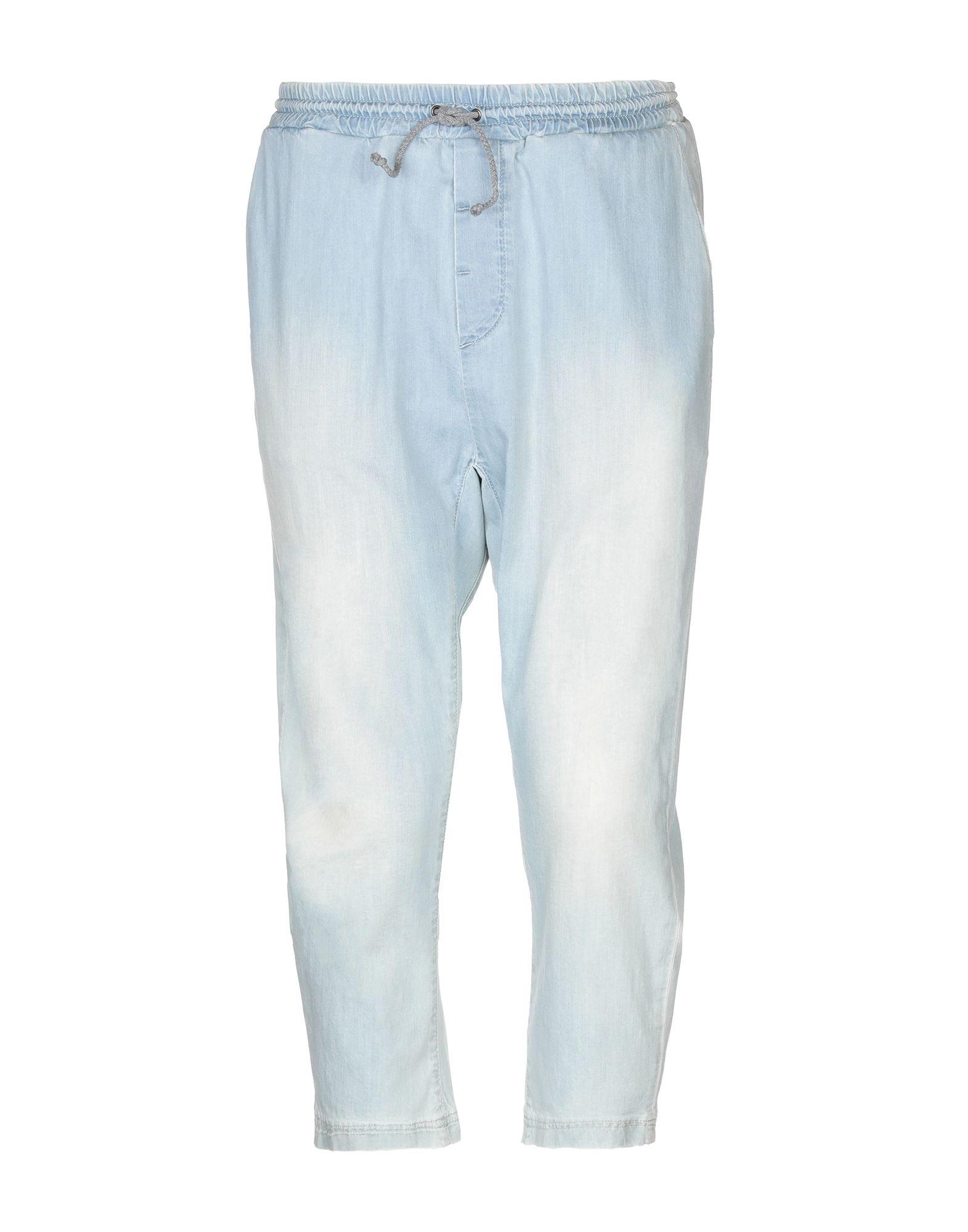 SUPERFINE Джинсовые брюки-капри