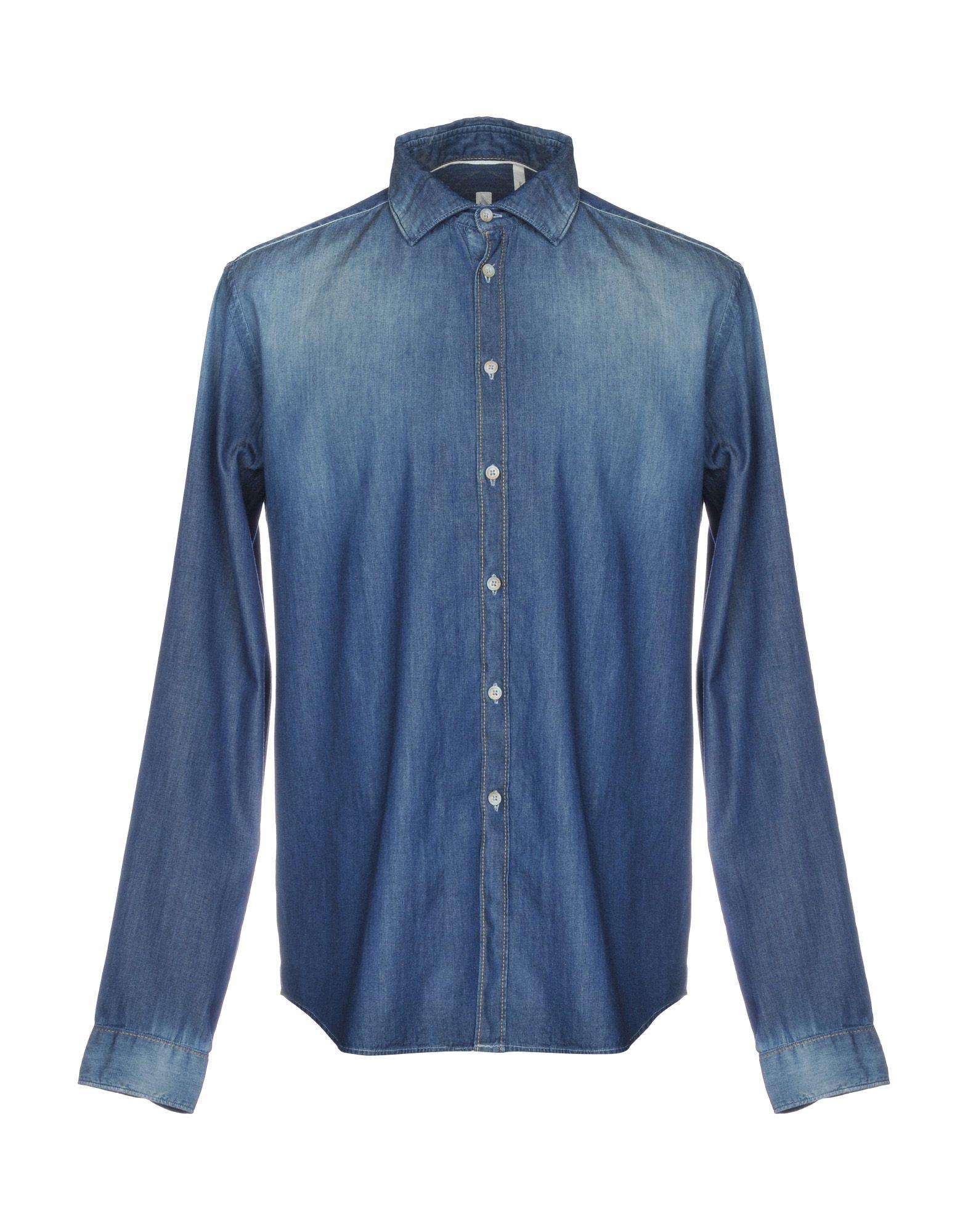 SALI & TABACCHI Джинсовая рубашка ziynet sali kusadasi