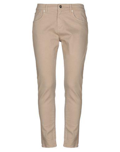 Фото - Джинсовые брюки бежевого цвета