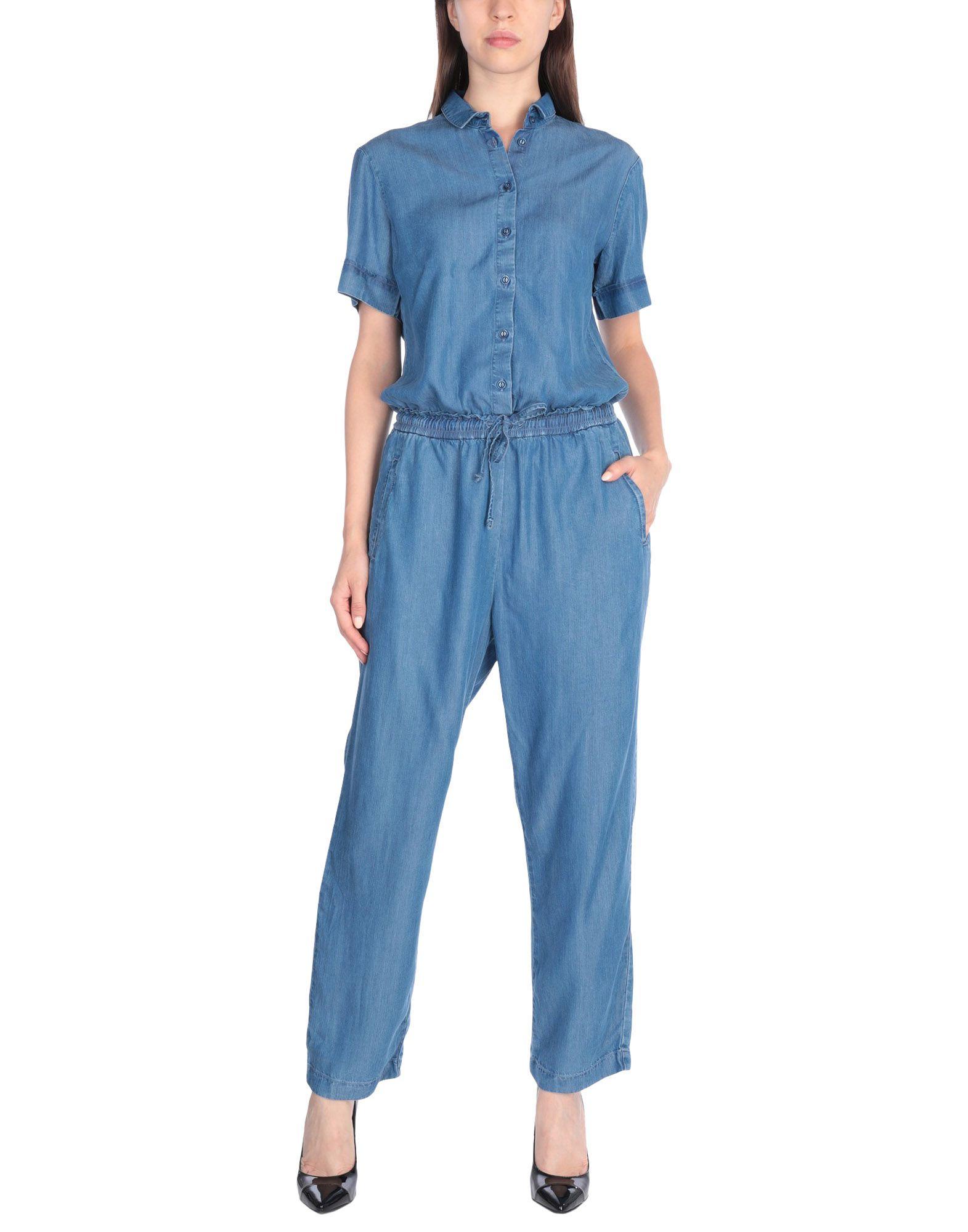 《セール開催中》AVANTGAR DENIM by EUROPEAN CULTURE レディース ジャンプスーツ ブルー M 100% 指定外繊維(テンセル)?