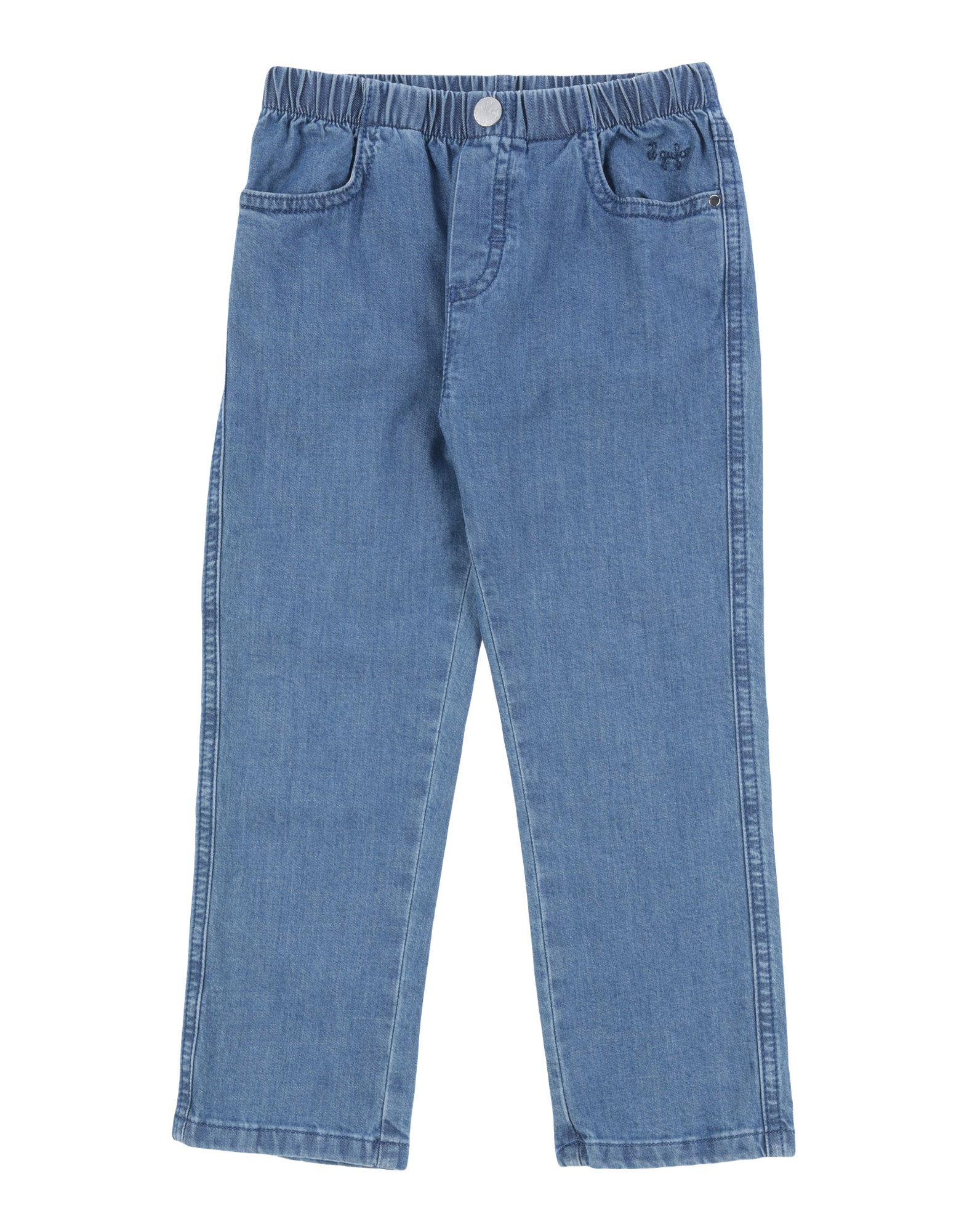 IL GUFO Джинсовые брюки футболка il gufo il gufo il003ebrho84