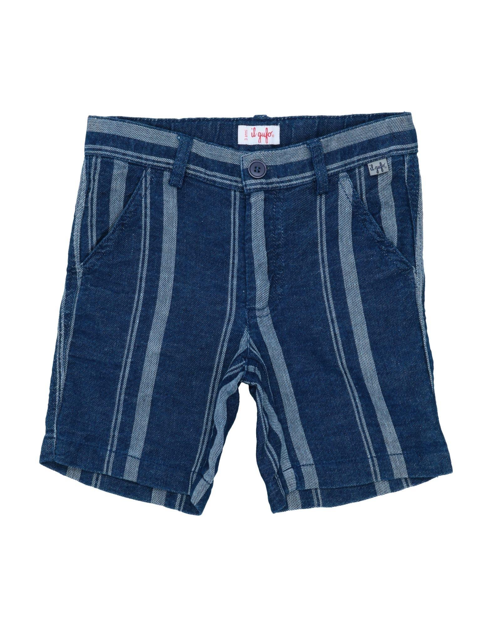 IL GUFO Джинсовые бермуды il gufo джинсовые брюки
