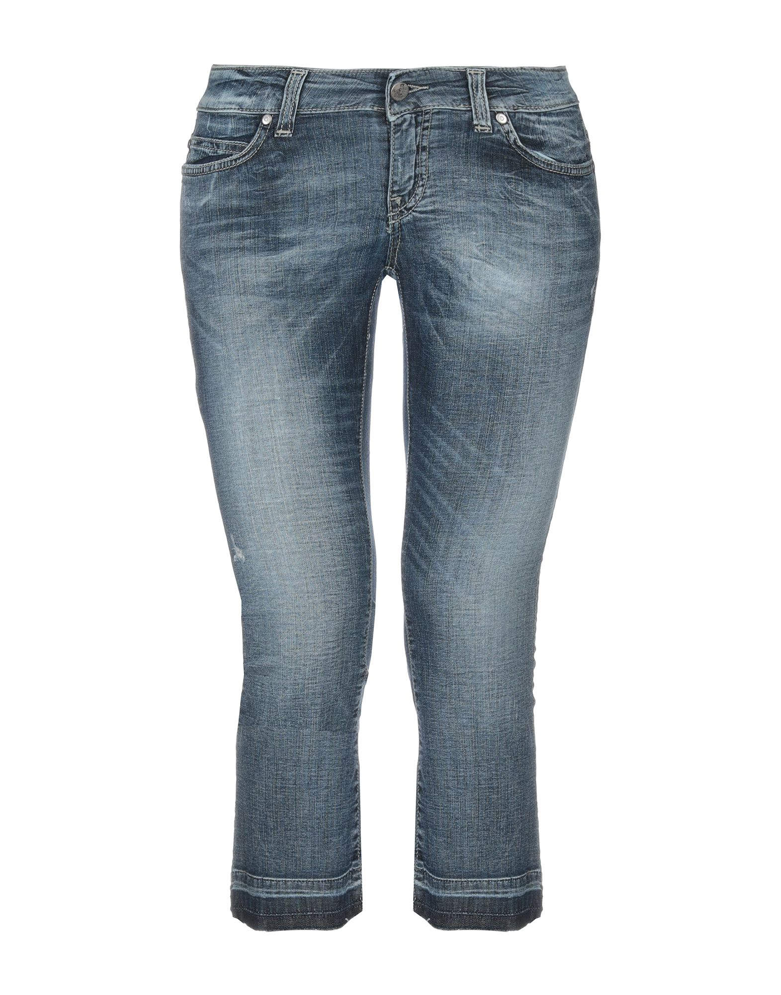 цена SEXY WOMAN Джинсовые брюки-капри онлайн в 2017 году