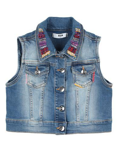 Фото - Джинсовая верхняя одежда от MSGM синего цвета