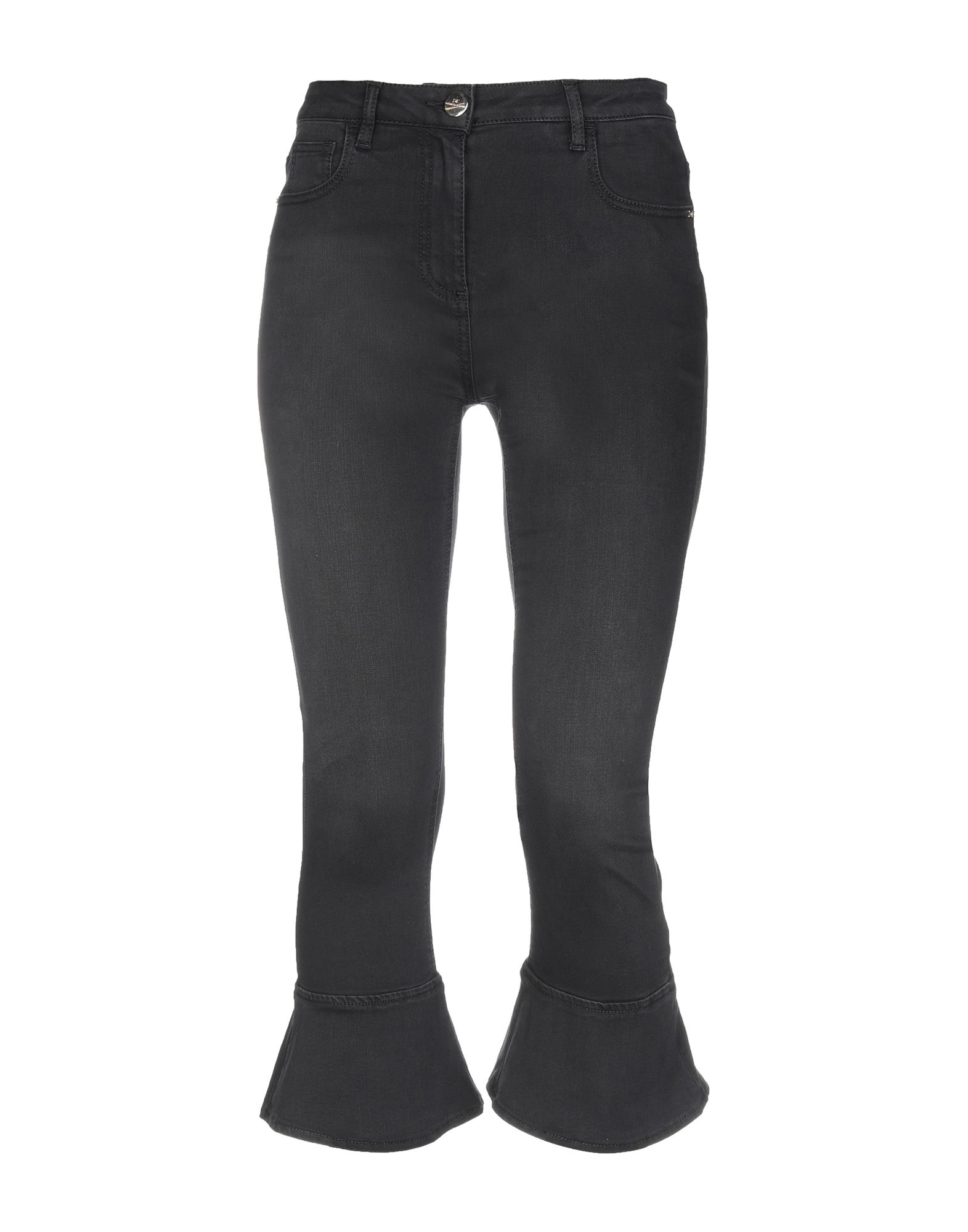 ELISABETTA FRANCHI JEANS Джинсовые брюки-капри цена 2017