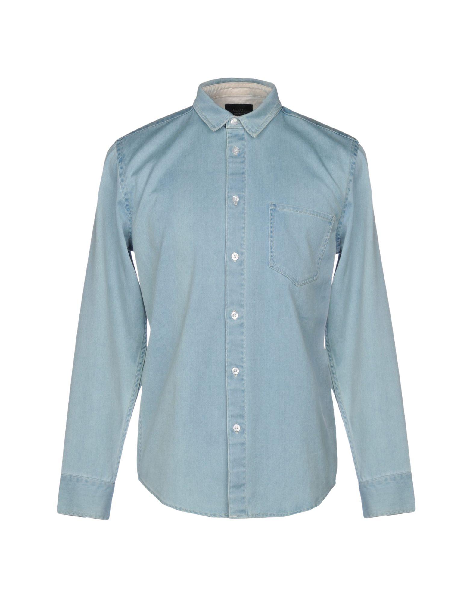 GLOBE Джинсовая рубашка globe рубашка globe goodstock oxford shirt black