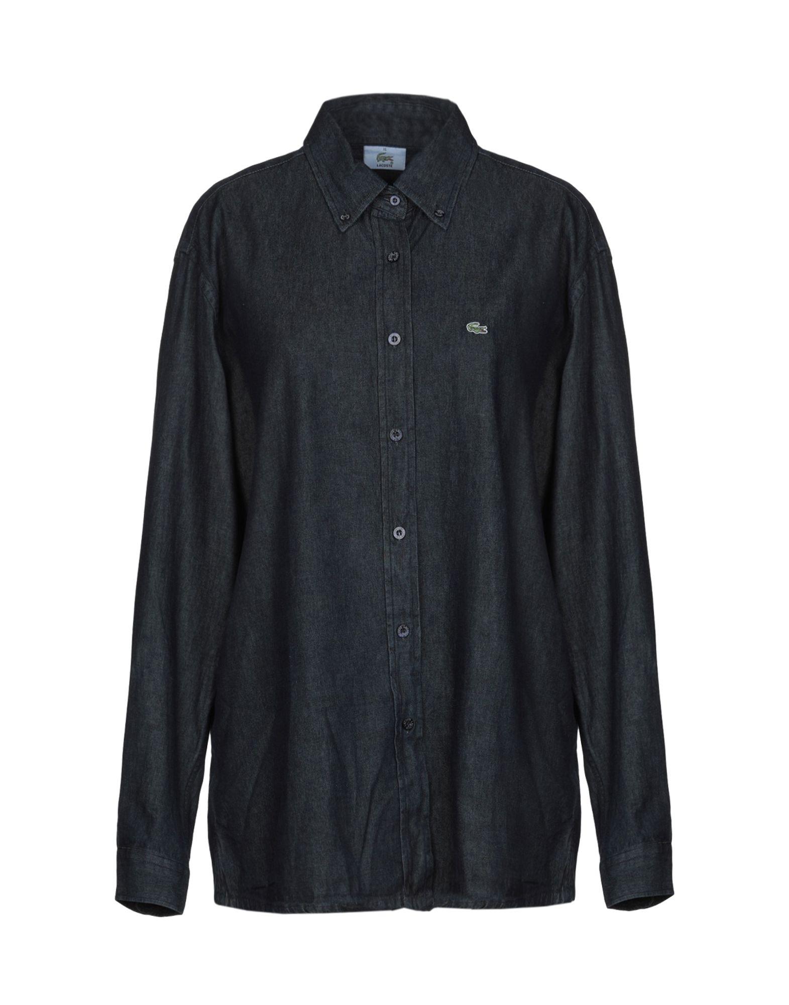 LACOSTE Джинсовая рубашка рубашка джинсовая lacoste lacoste la038emajrl5