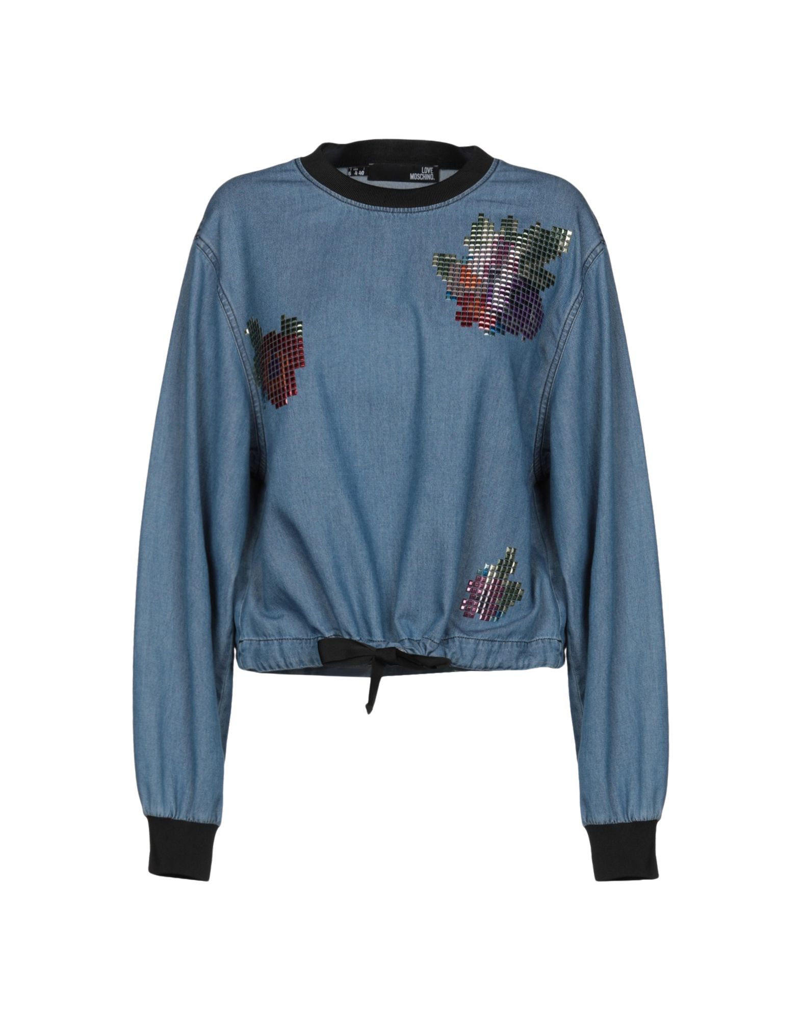 LOVE MOSCHINO Джинсовая рубашка рубашка джинсовая 3 12 лет