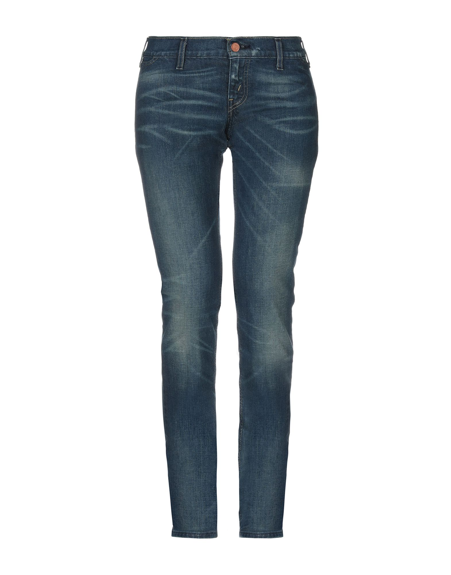 LEVI'S RED TAB Джинсовые брюки button design mid waist skinny jeans