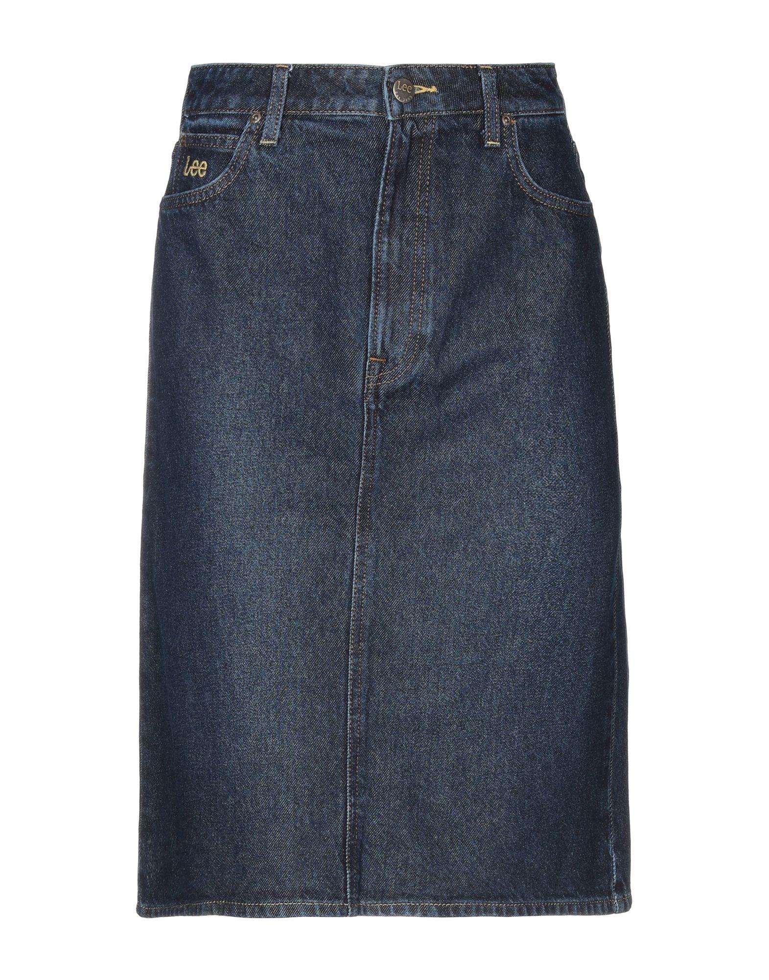 LEE Джинсовая юбка куртка джинсовая lee lee le807emaksy8