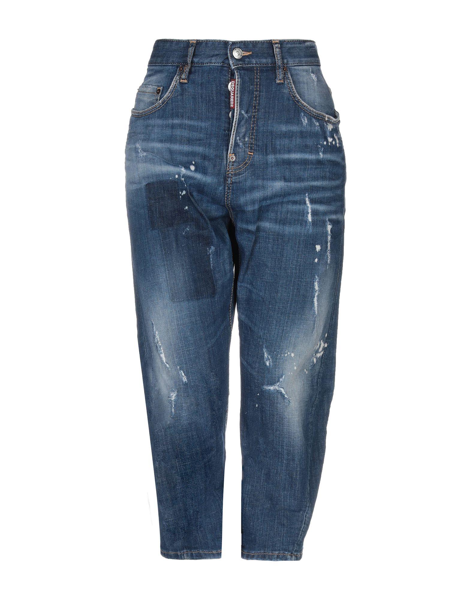 DSQUARED2 Джинсовые брюки-капри джинсовые капри женские купить