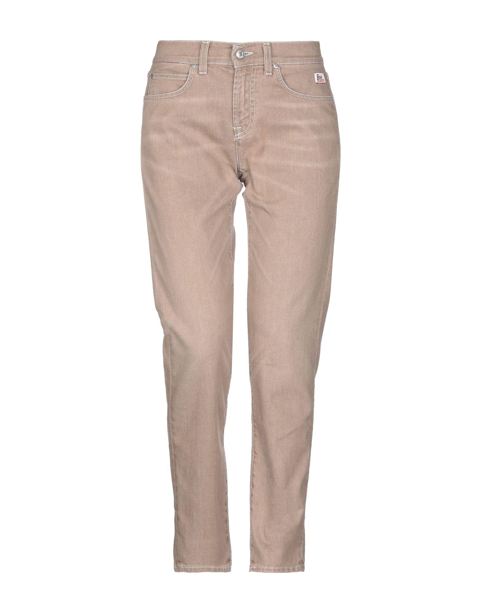 ROŸ ROGER'S Джинсовые брюки roÿ roger s джинсовые брюки