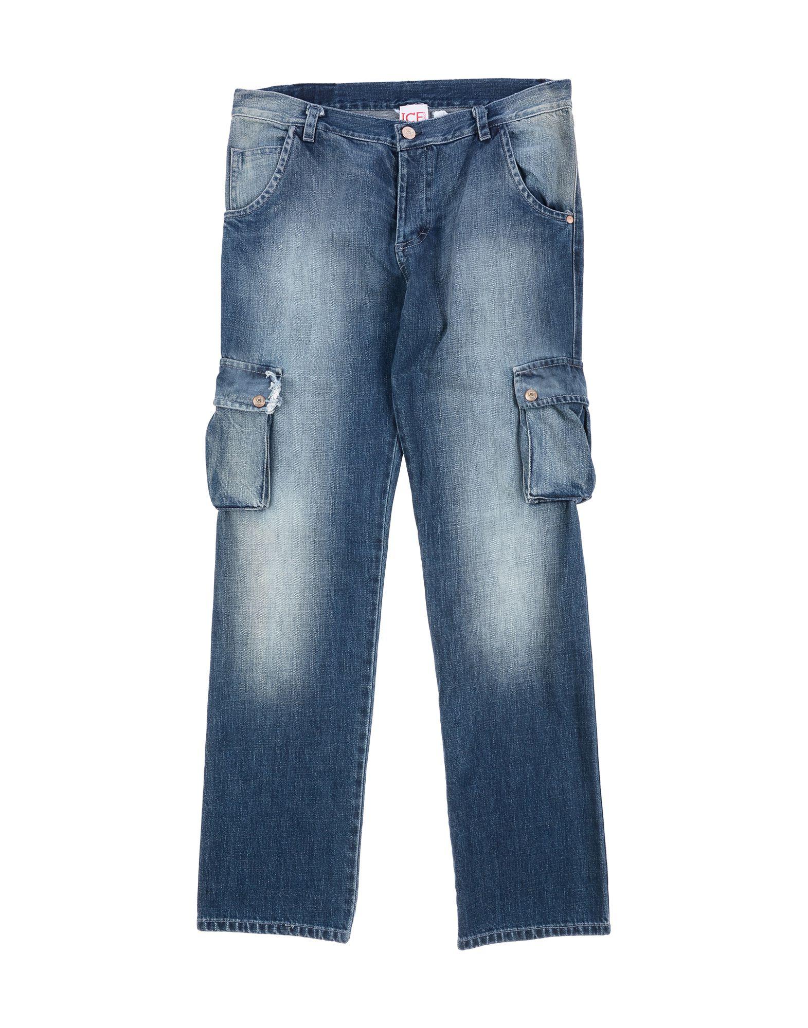 ICE ICEBERG JUNIOR Джинсовые брюки фреза пазовая bosch std s8 d6 l16 2608628379