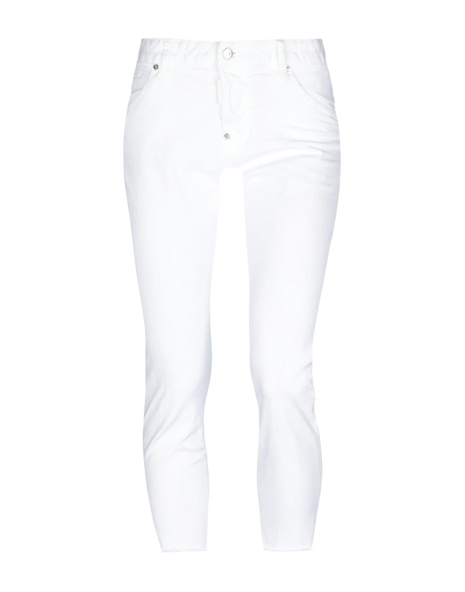 DSQUARED2 Джинсовые брюки-капри капри dsquared2