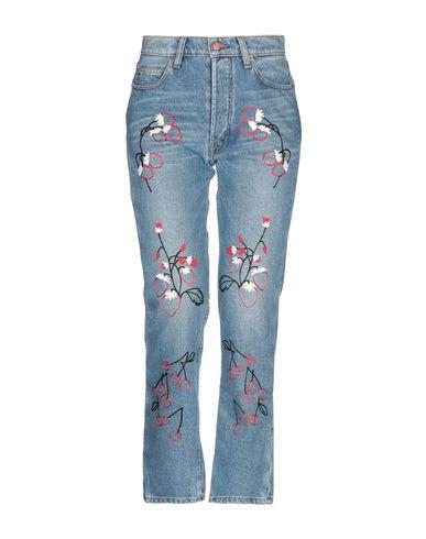 Фото - Джинсовые брюки от BLISS AND MISCHIEF синего цвета