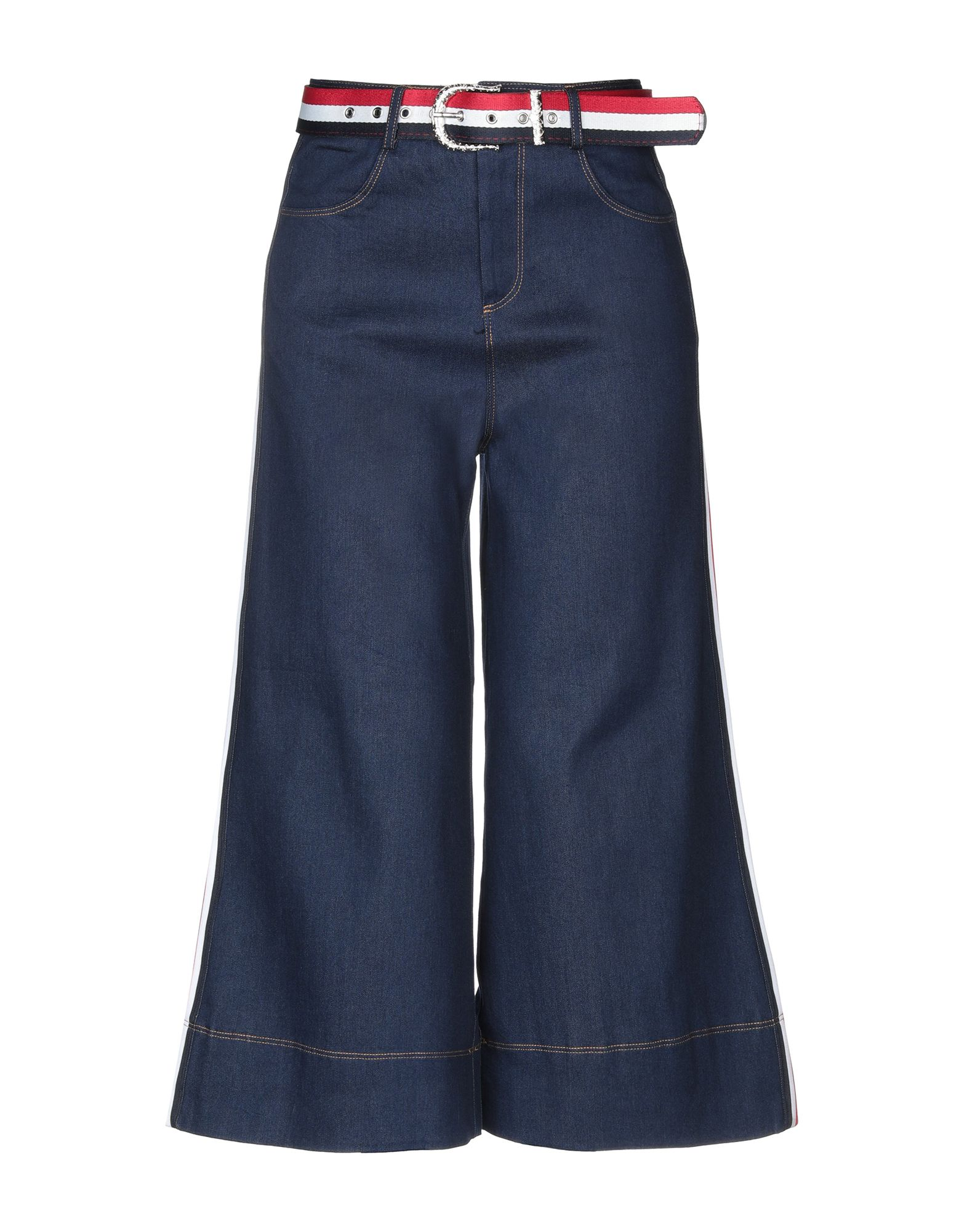 MUST Джинсовые брюки-капри джинсовые капри женские купить