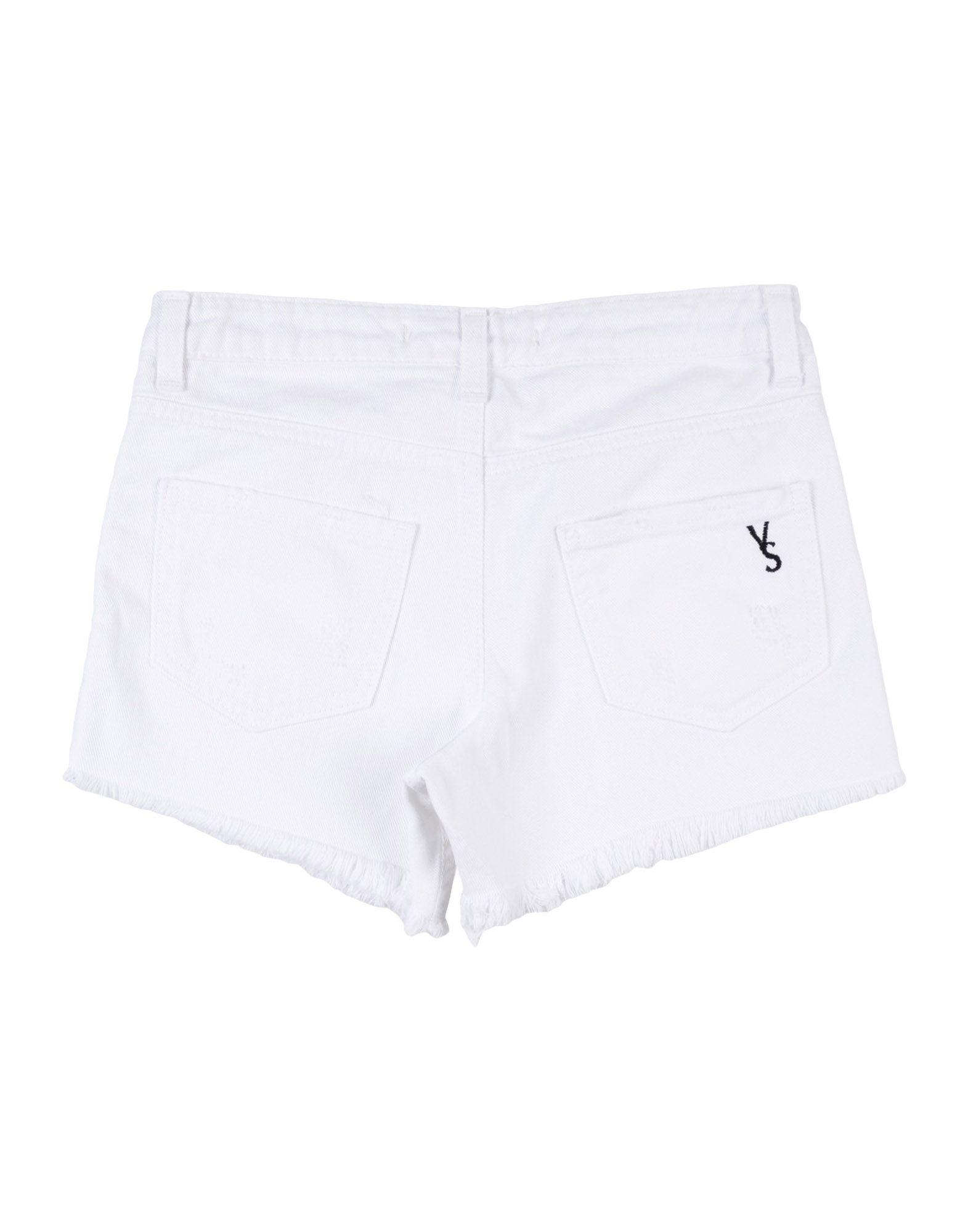 VICTORIA & STELLA Denim shorts - Item 42695733