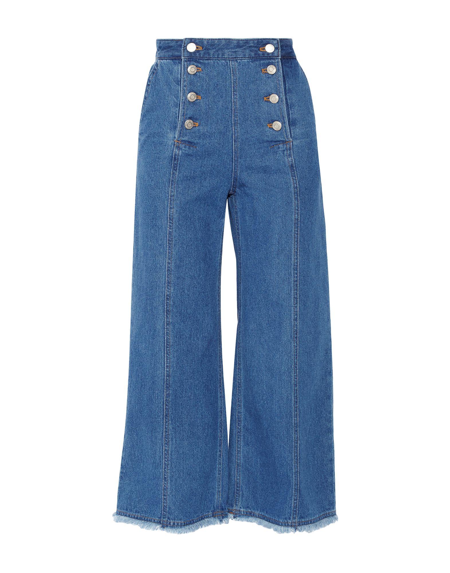 STEVE J & YONI P Джинсовые брюки