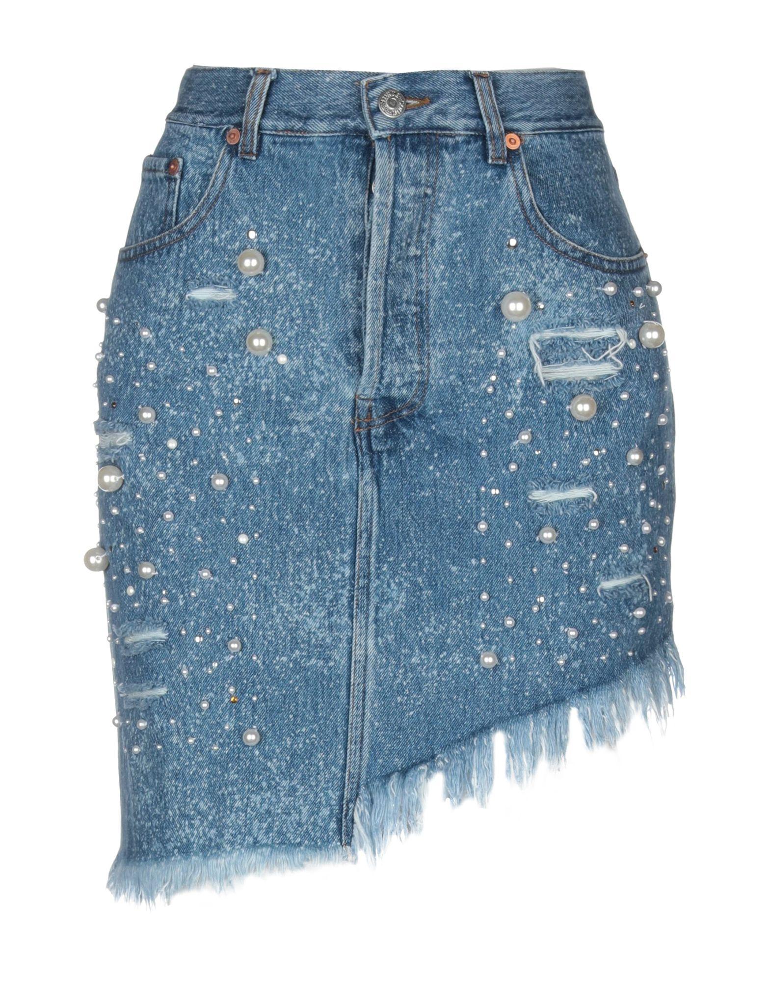 FORTE DEI MARMI COUTURE Джинсовая юбка недорго, оригинальная цена