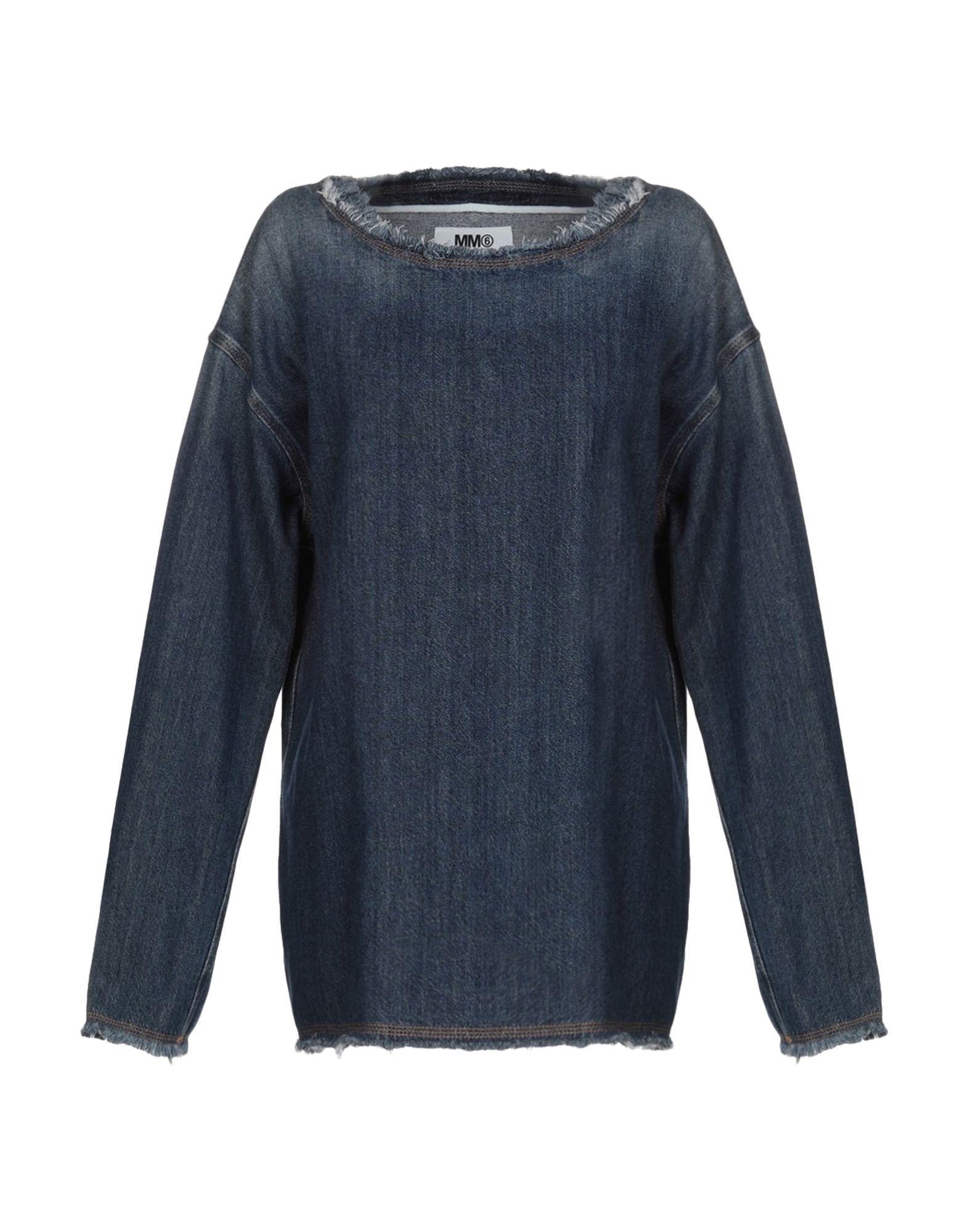 MM6 MAISON MARGIELA Джинсовая рубашка mm6 maison margiela джинсовая рубашка