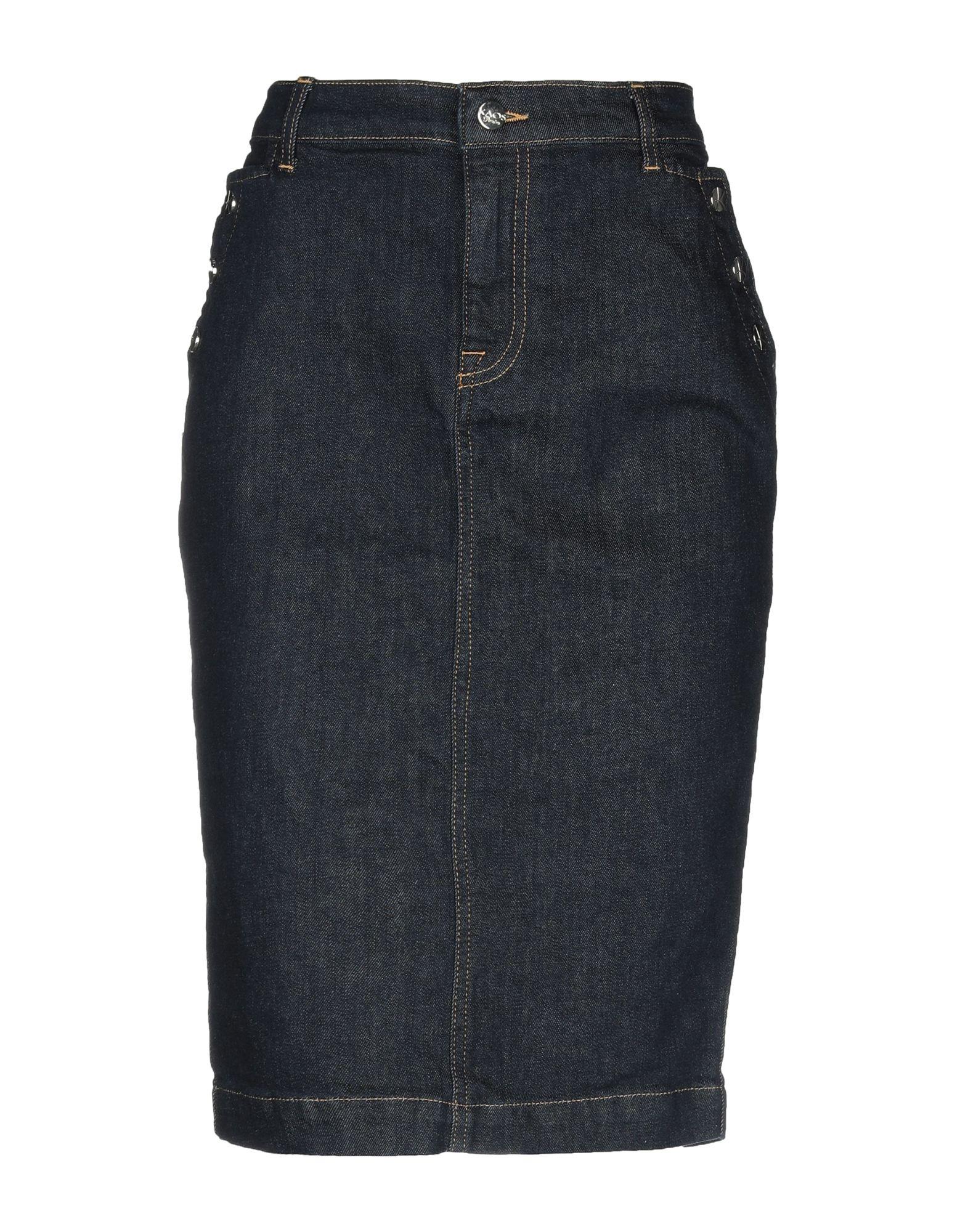 KAOS JEANS Джинсовая юбка kaos jeans мини юбка