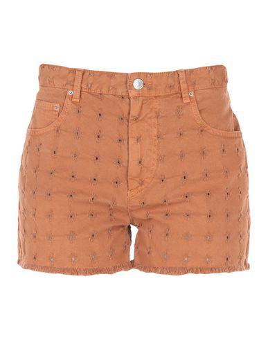 Купить Джинсовые шорты от ISABEL MARANT ÉTOILE цвет верблюжий