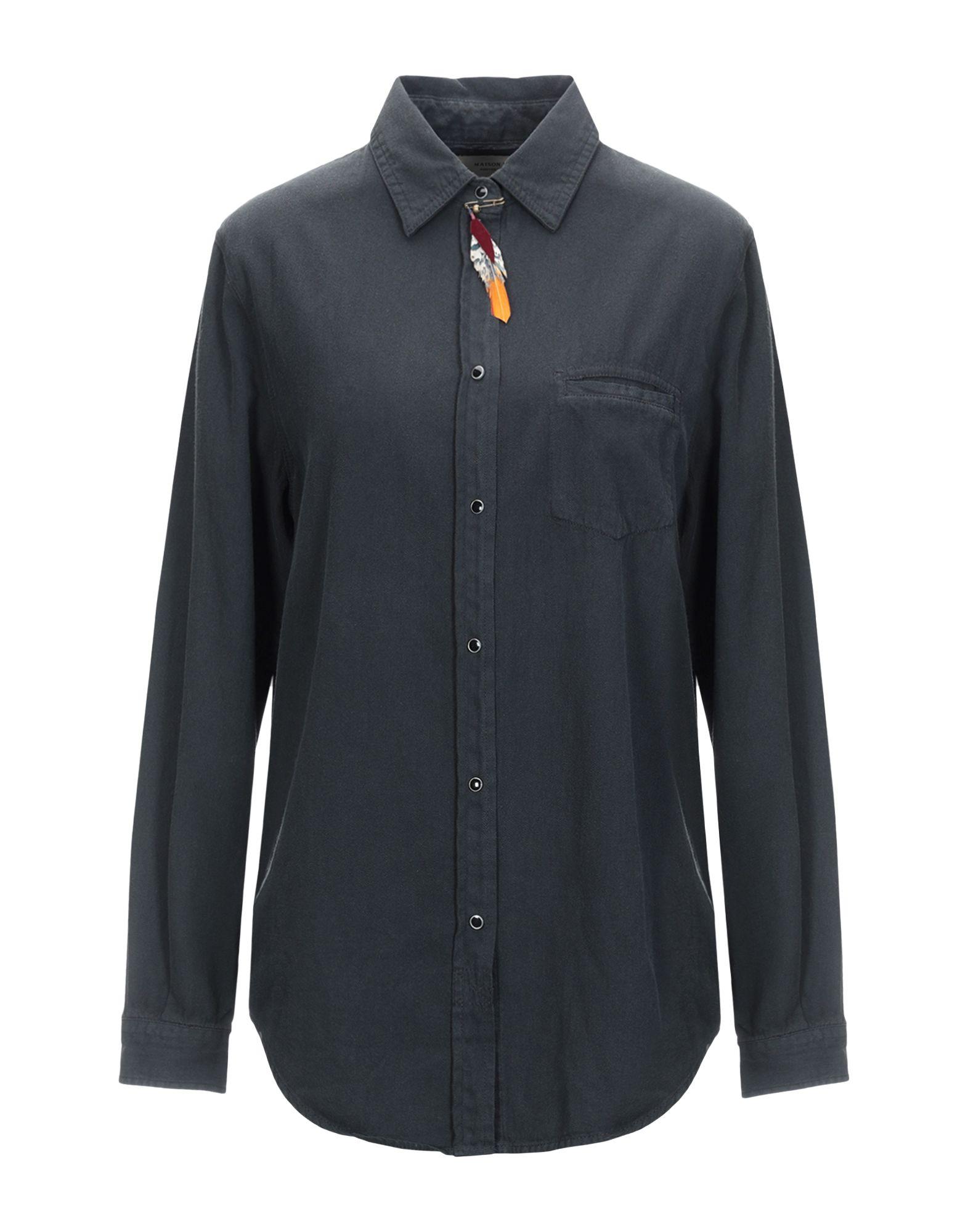 MAISON SCOTCH Джинсовая рубашка цена 2017