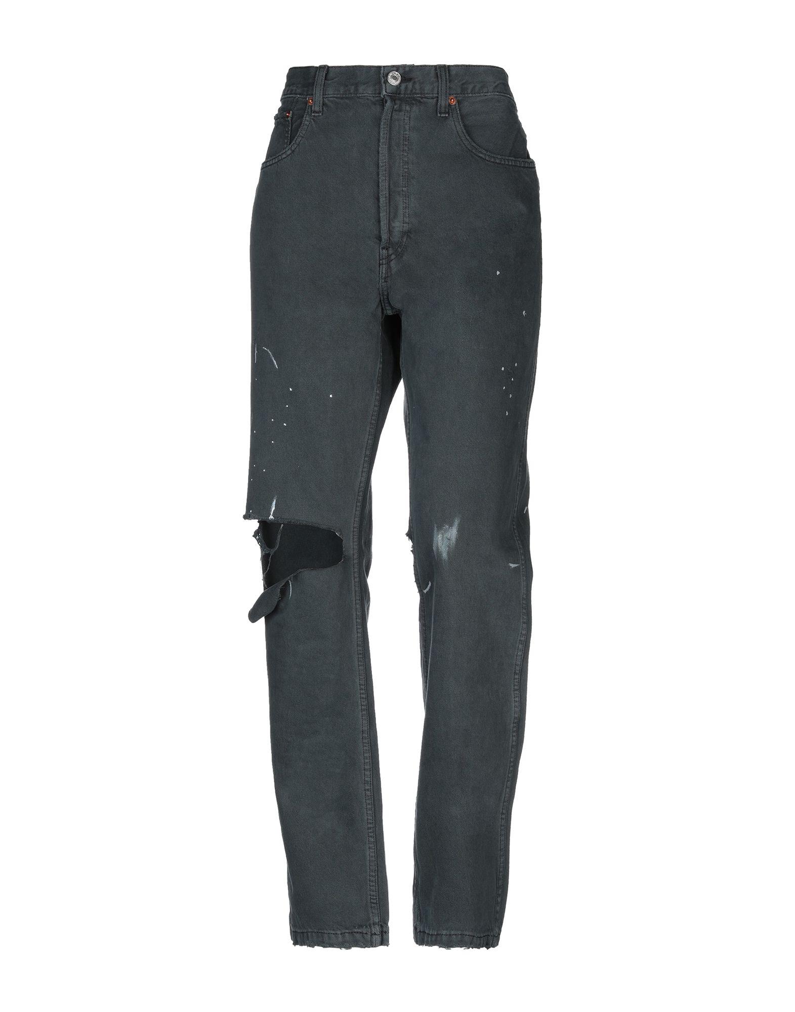 цена RE/DONE Джинсовые брюки