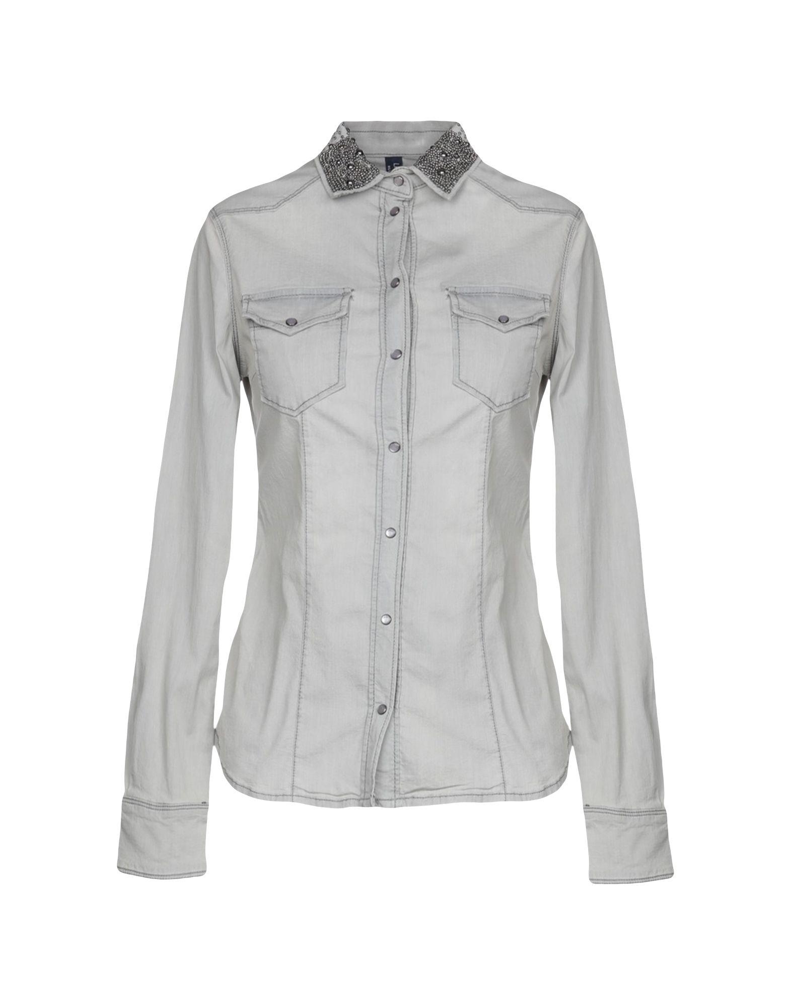 LIU •JO Джинсовая рубашка рубашка liu jo jeans liu jo jeans li003ewjku74