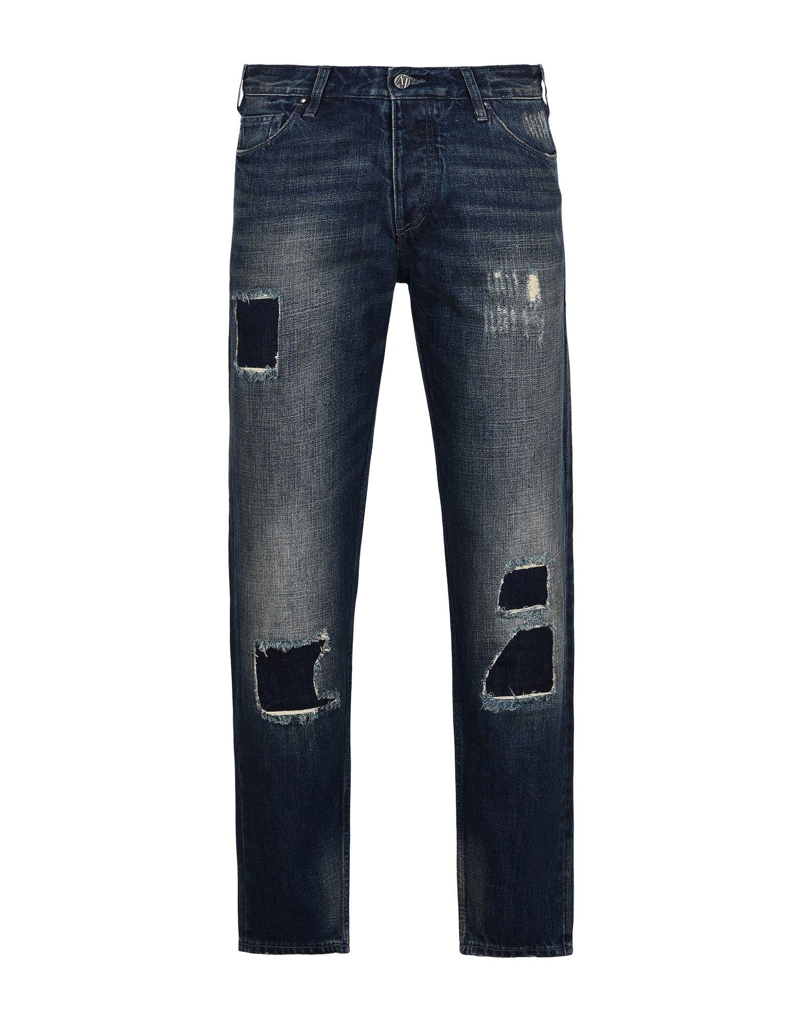 ARMANI JEANS Джинсовые брюки summer boyfriend jeans for women hole ripped white lace flowers denim pants low waist mujer vintage skinny stretch jeans female
