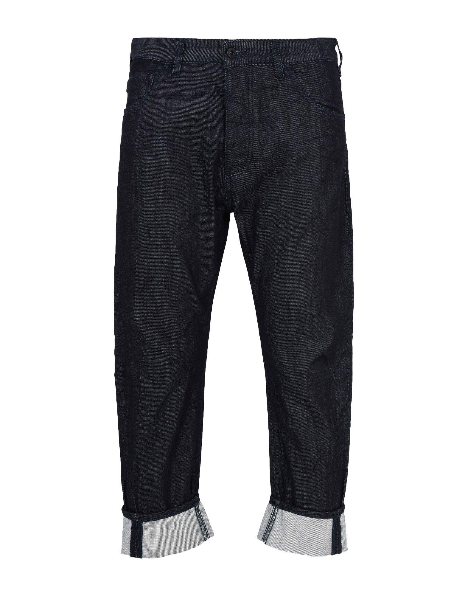 ARMANI JEANS Джинсовые брюки 2017 boyfriend hole ripped low waist jeans women vintage lace floral cool denim pencil pants lady bleached washed jeans femme