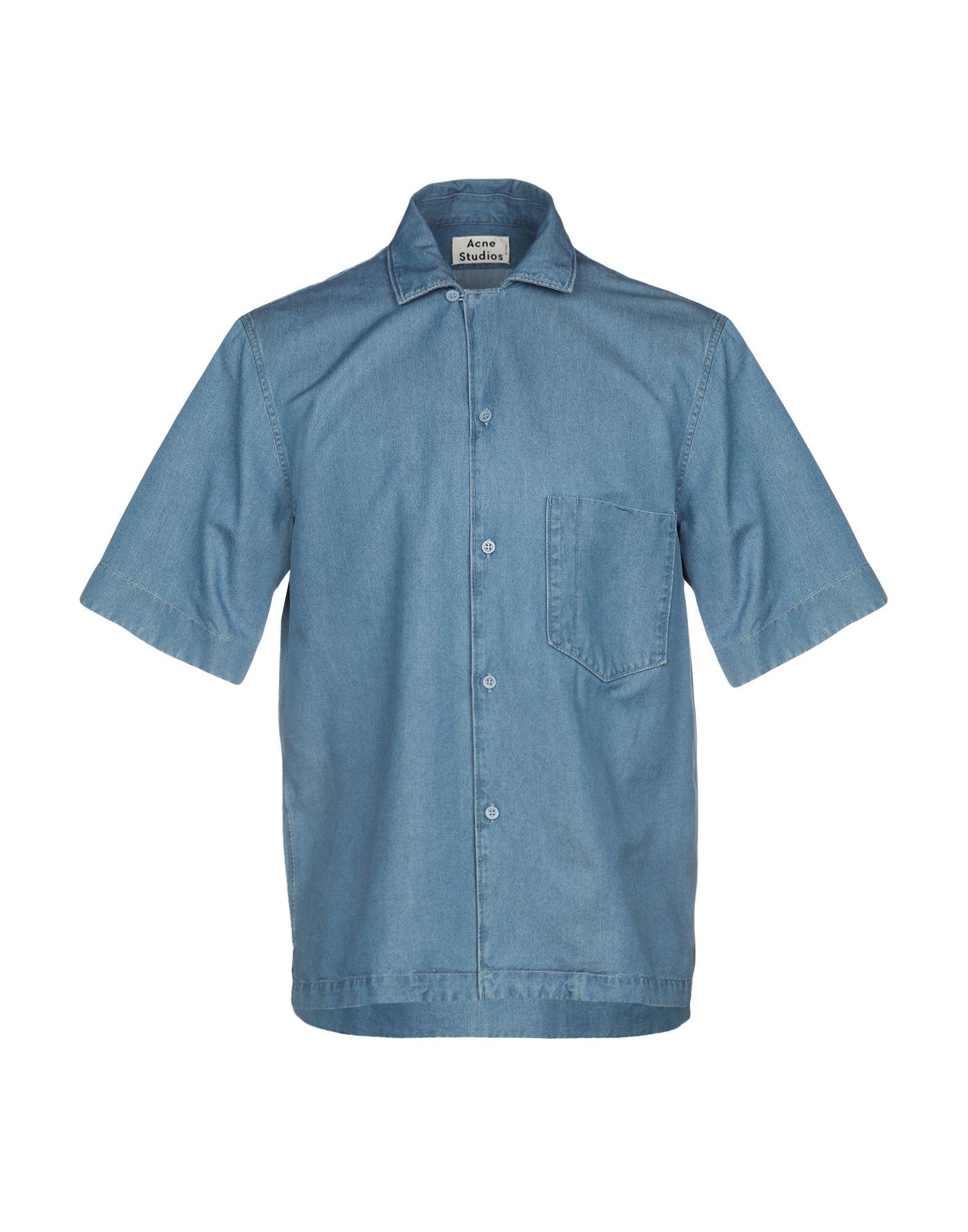 ACNE STUDIOS Джинсовая рубашка
