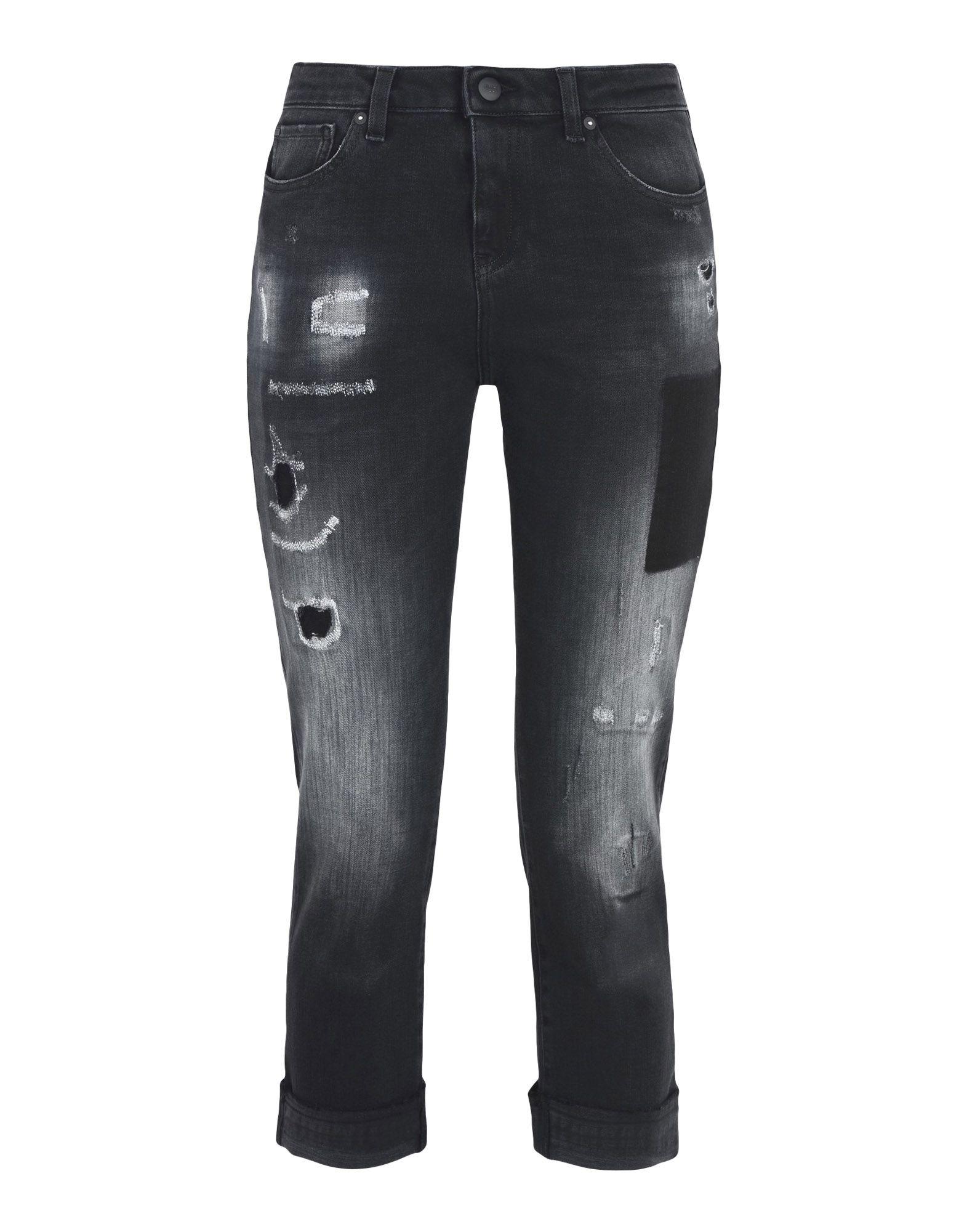 ARMANI JEANS Джинсовые брюки-капри цена