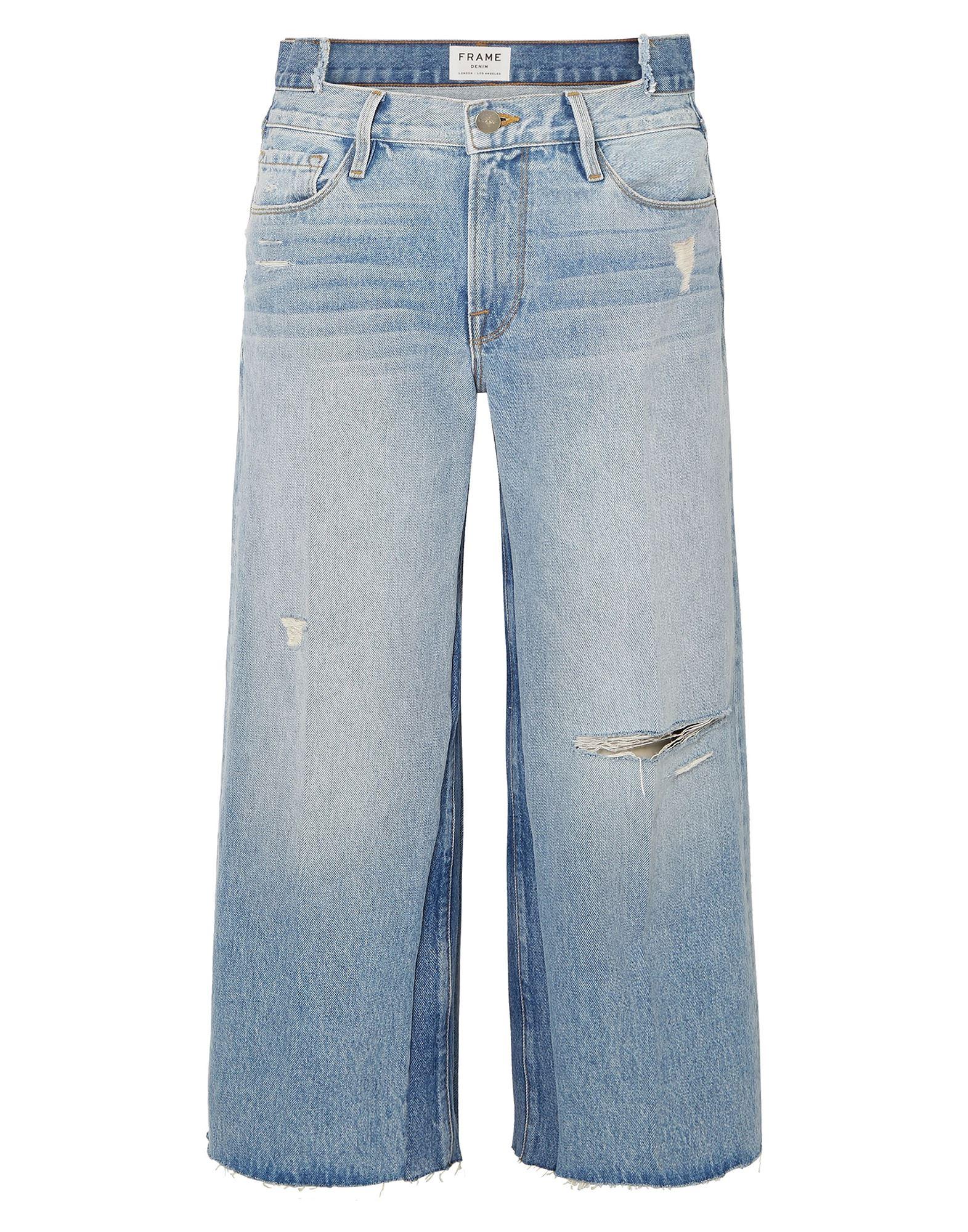 FRAME Джинсовые брюки-капри все цены